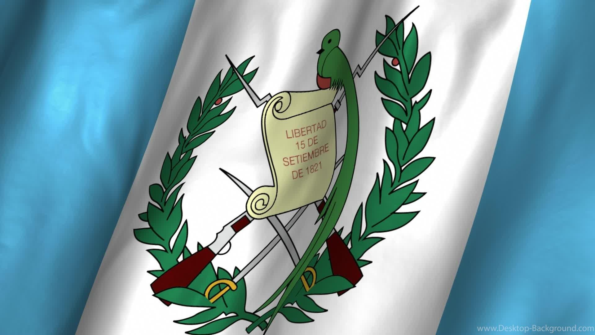 Guatemala Waving Flag Stock Video 12278110 Desktop Backgrounds