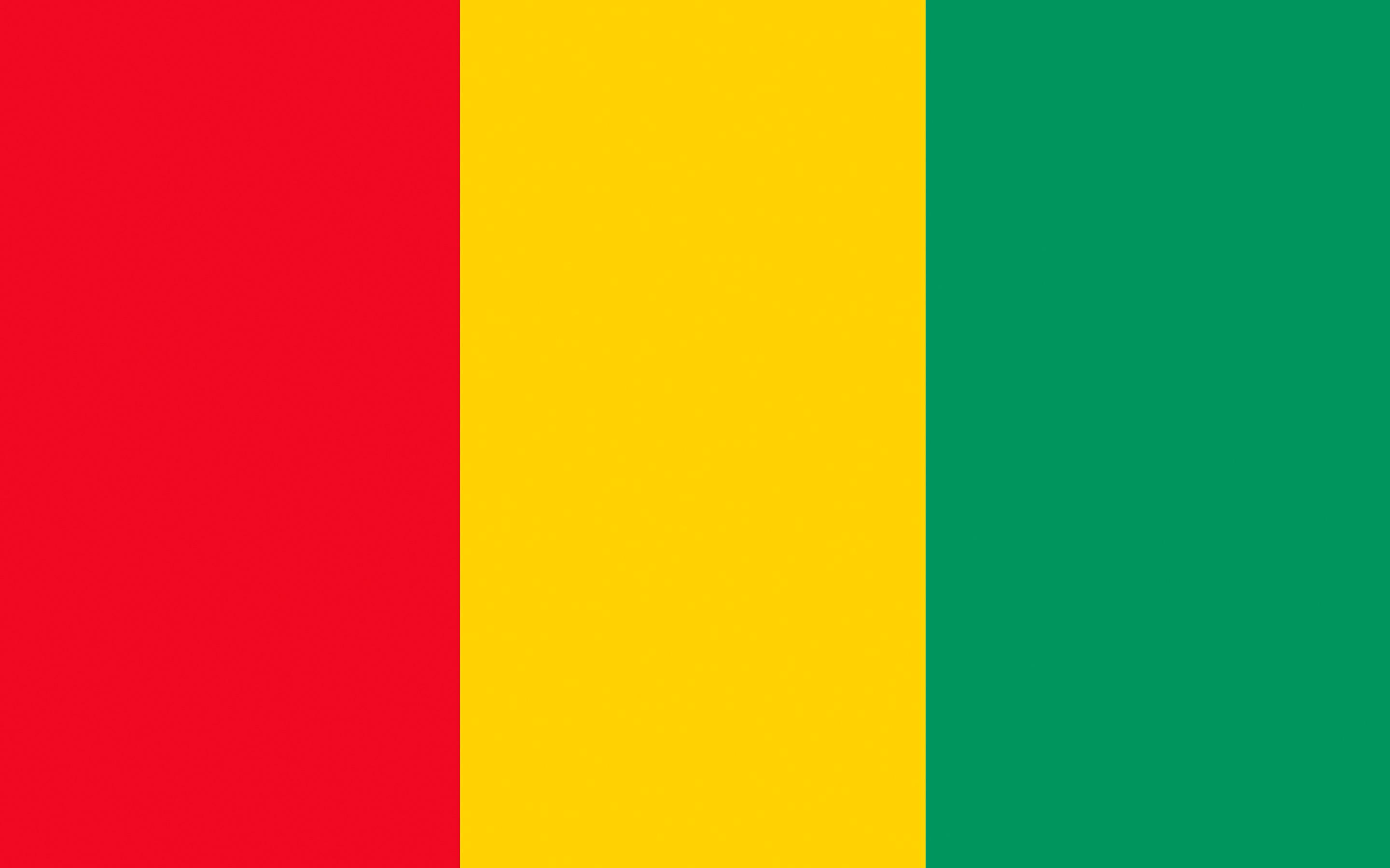 Wallpapers Guinea Flag Stripes 2880x1800