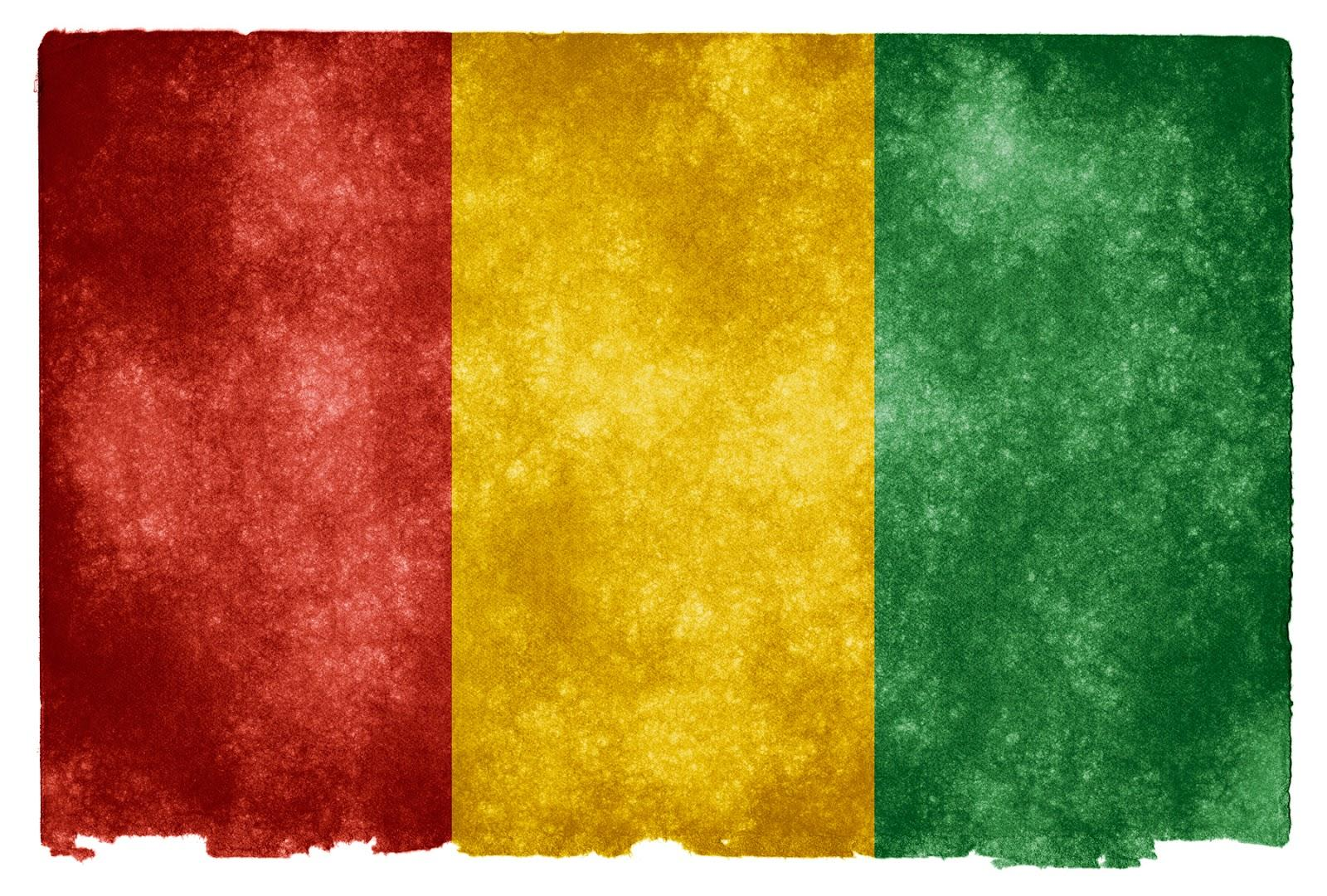Flag of Guinea - JANCOK