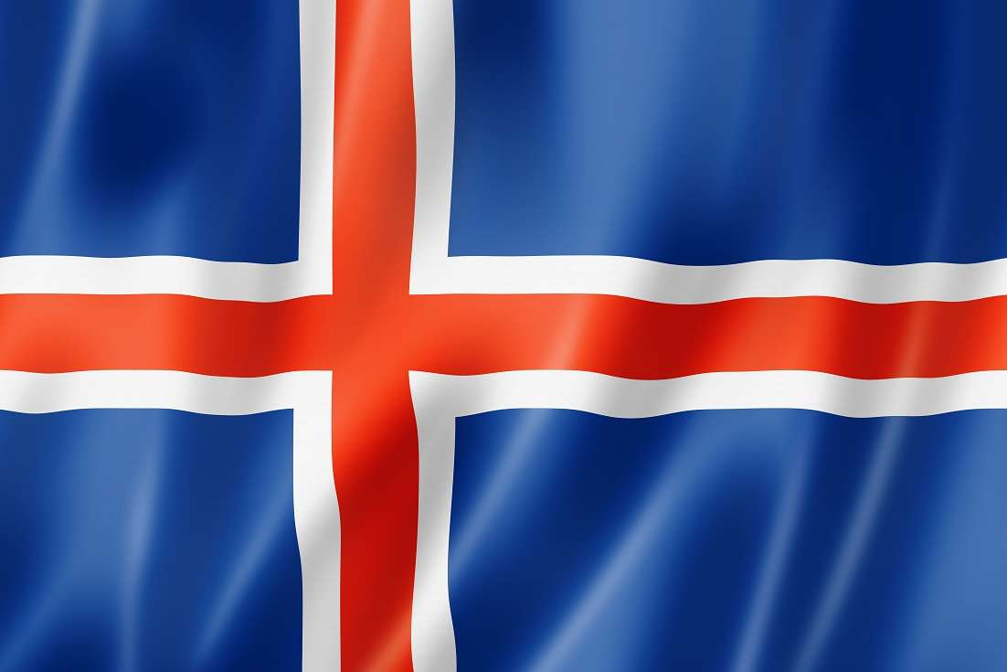 Iceland Flag Gif HD Wallpaper, Backgrounds Image