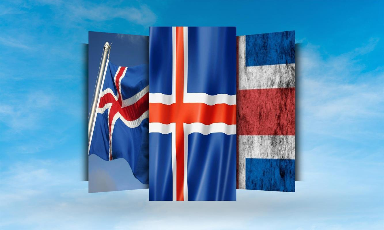 Iceland Flag Wallpapers for Android