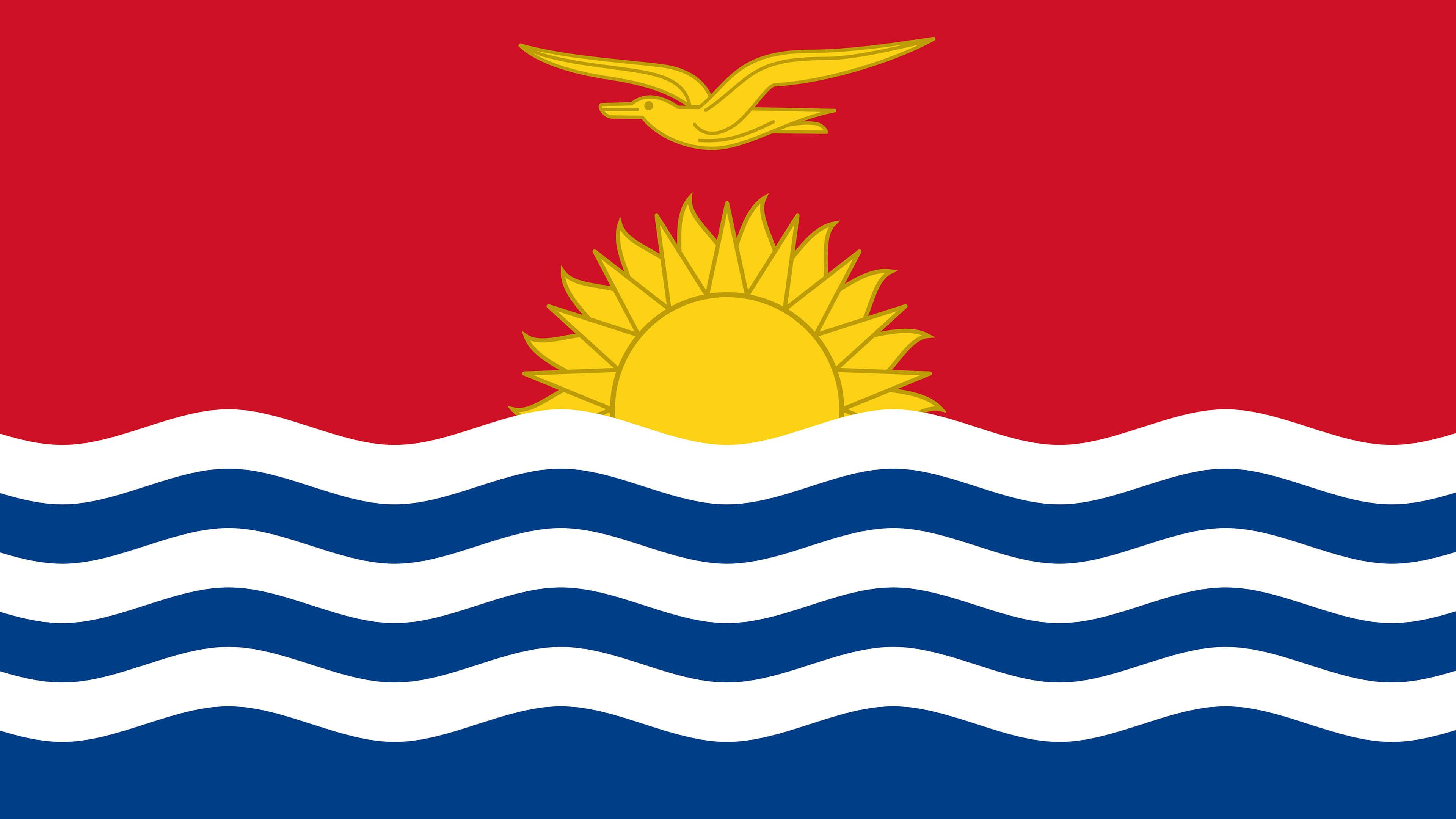 Kiribati Flag UHD 4K Wallpapers