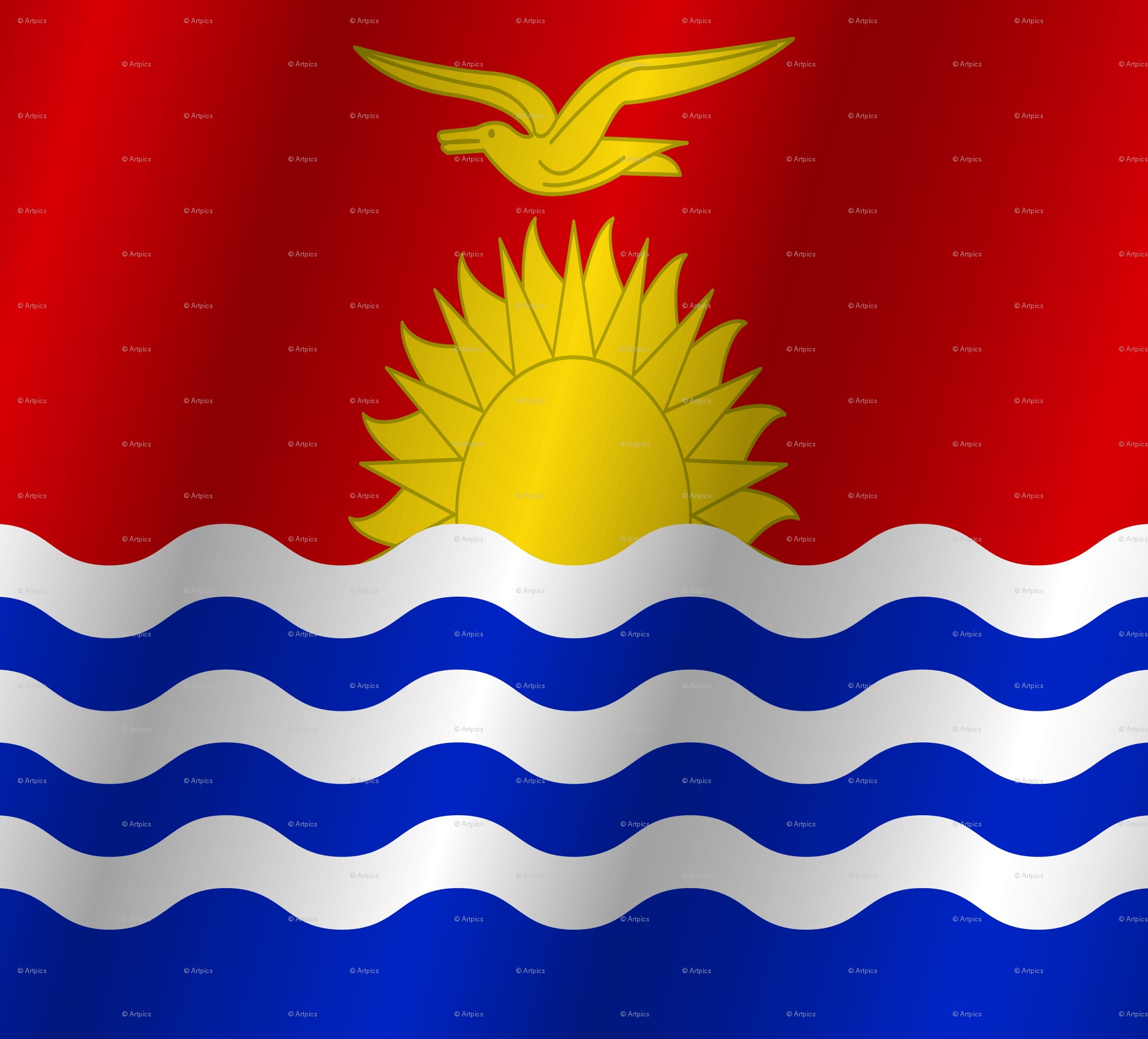 Flag of Kiribati wallpapers