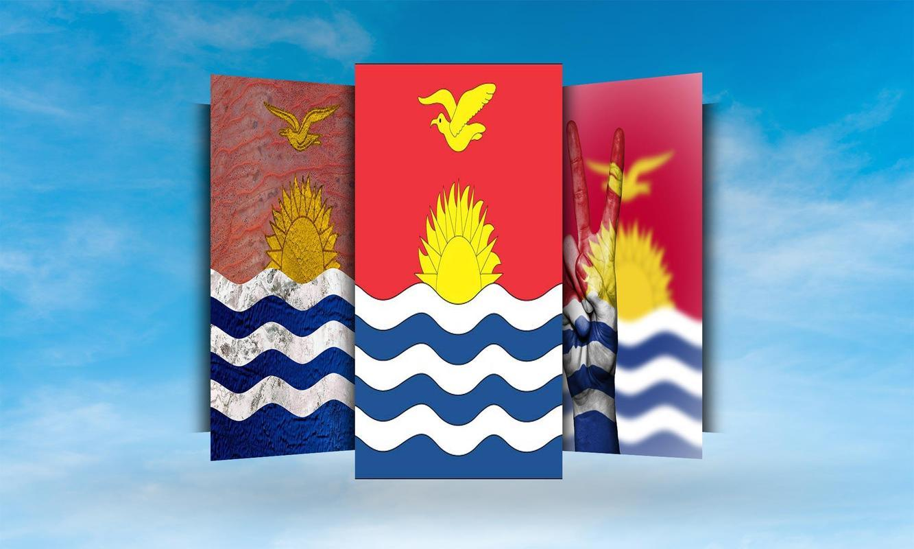 Kiribati Flag Wallpapers for Android