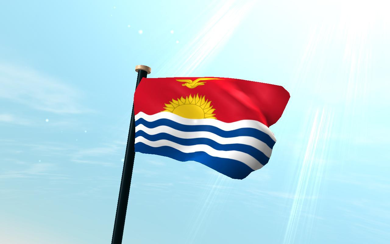 Kiribati Flag 3D Free for Android