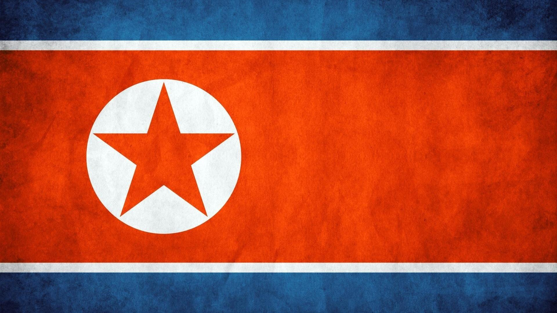 Download wallpapers 1920x1080 north korea, background, texture, flag