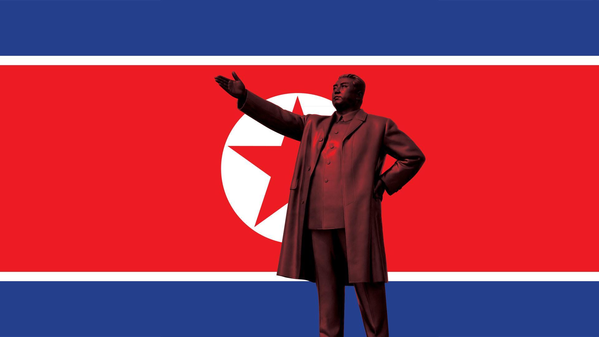 North Korea Flag Wallpapers Wallpaper Cave