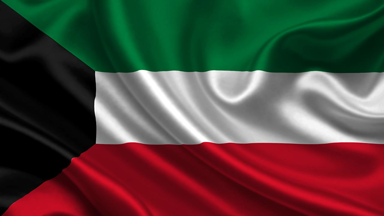 Wallpapers Kuwait Flag Stripes