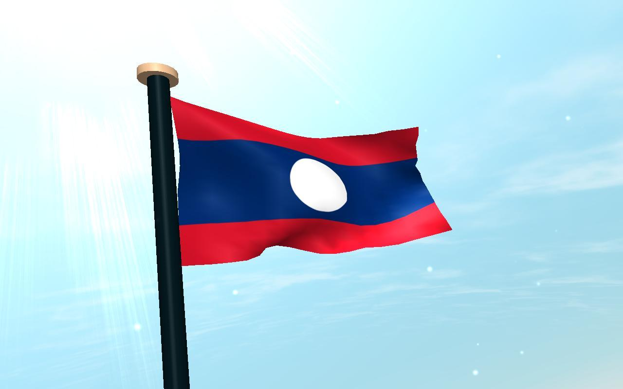 Laos Flag 3D Free Wallpaper for Android - APK Download