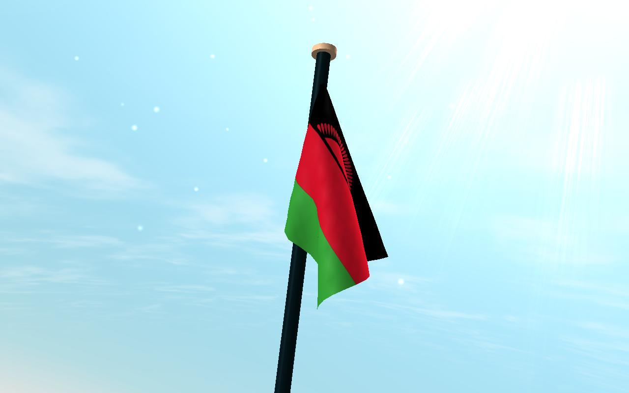Malawi Flag 3D Free Wallpapers for Android