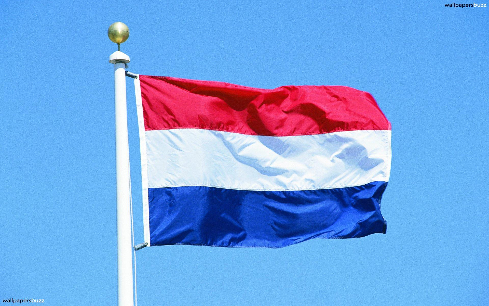 The traditional flag of Kingdom of Netherlands HD Wallpapers