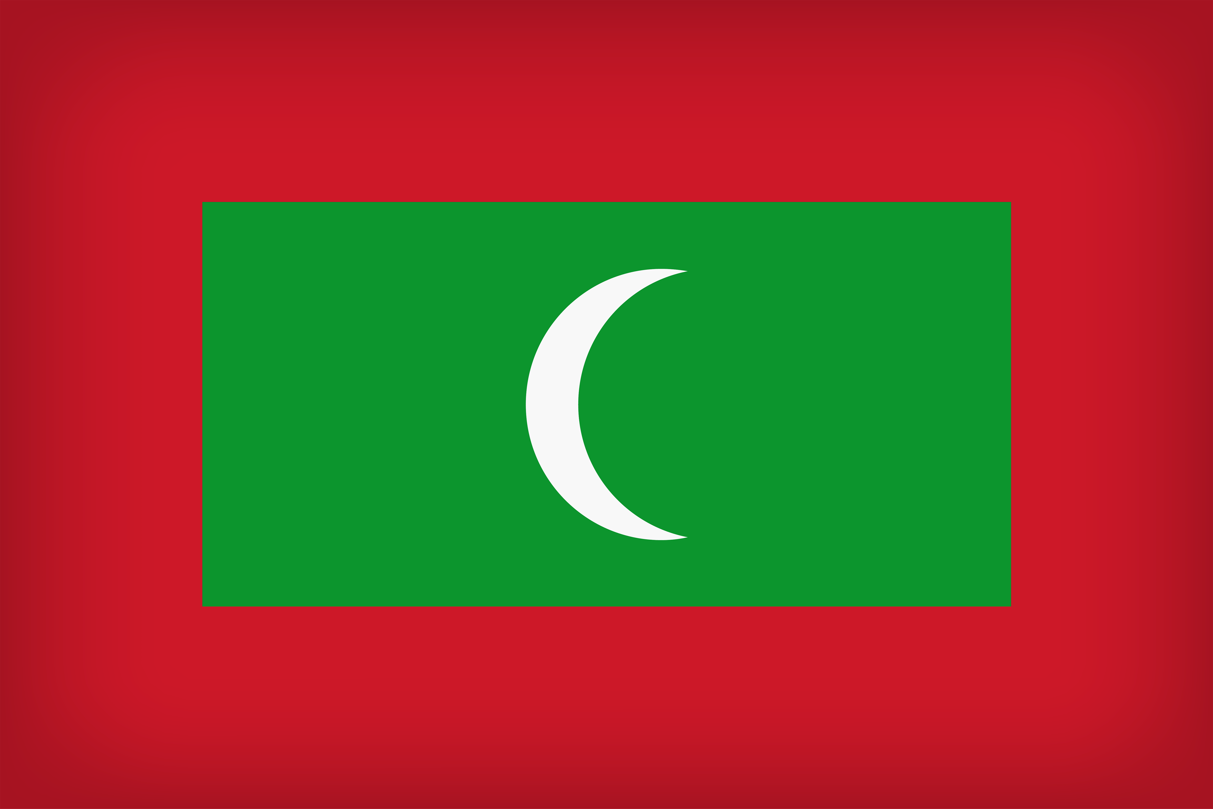 Maldives Large Flag | Gallery Yopriceville - High-Quality Images ...