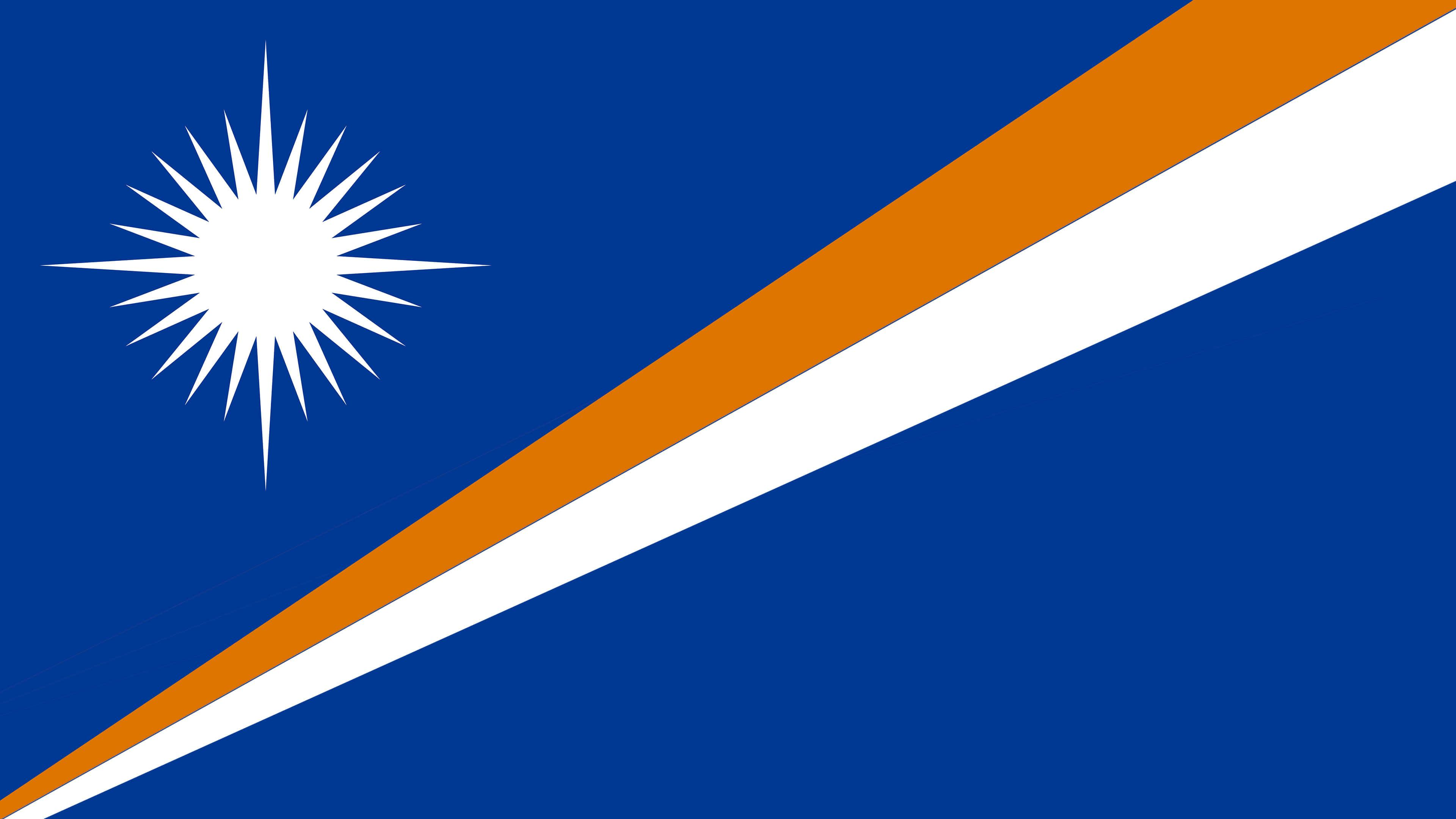 Marshall Islands Flag UHD 4K Wallpaper | Pixelz