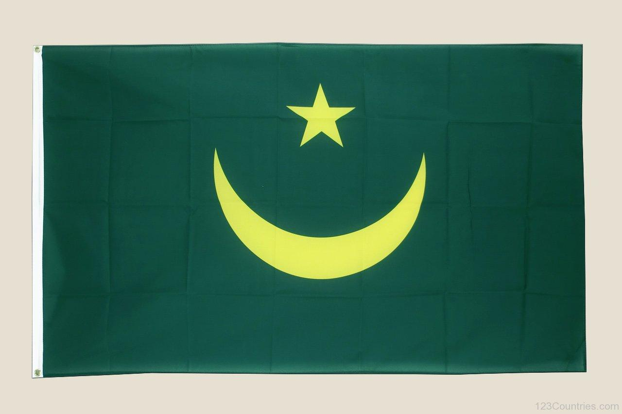 National Flag Of Mauritania - 123Countries.com