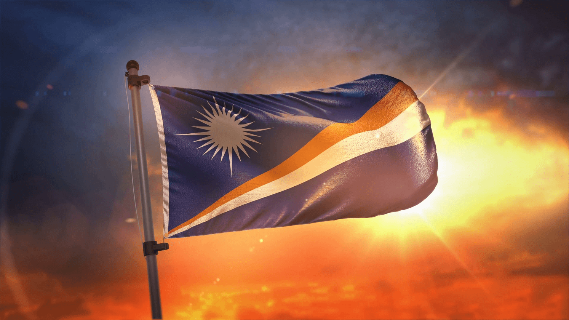 Marshall Islands Flag Picture | www.tollebild.com
