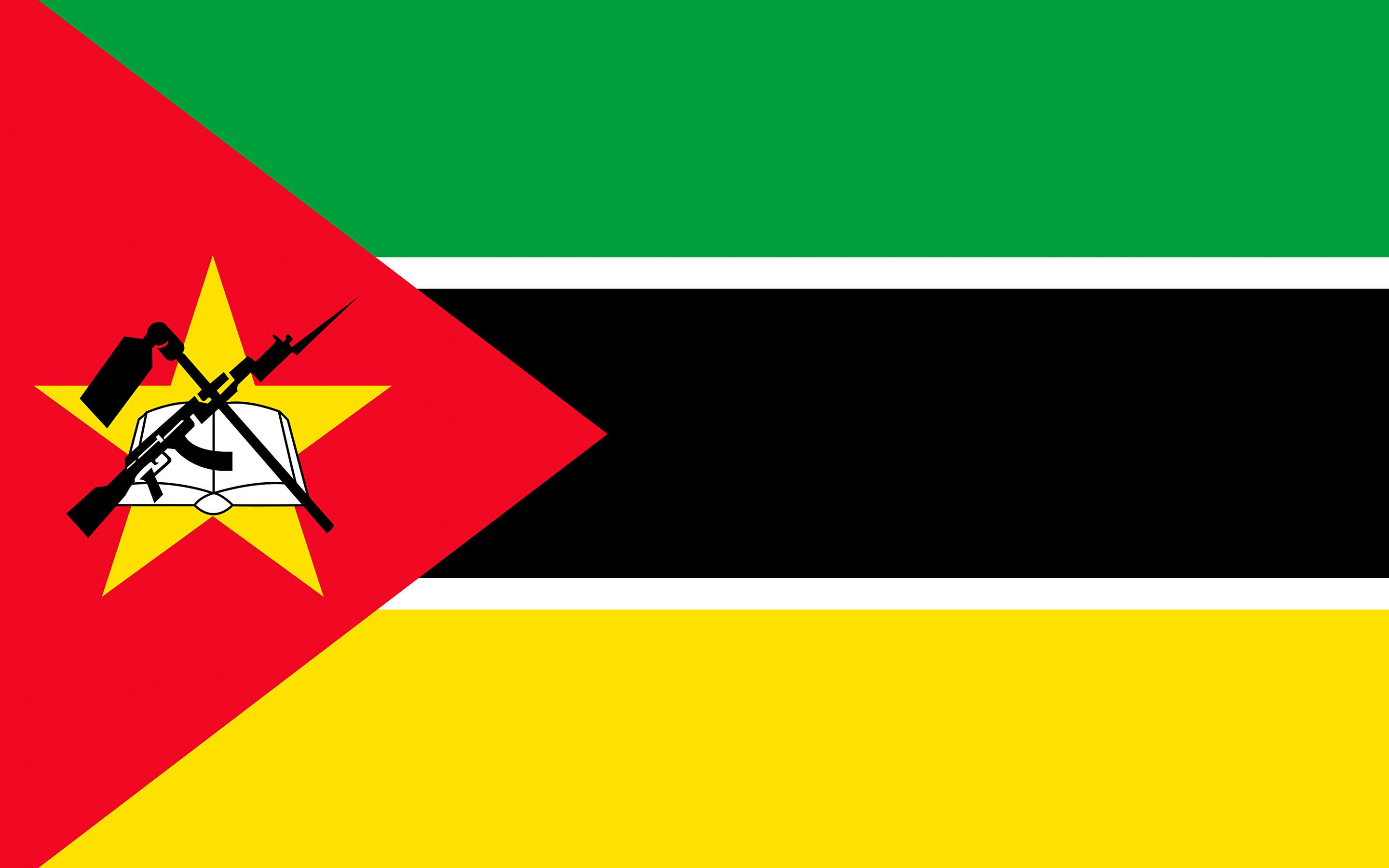 Wallpapers Mozambique Flag Stripes 2880x1800