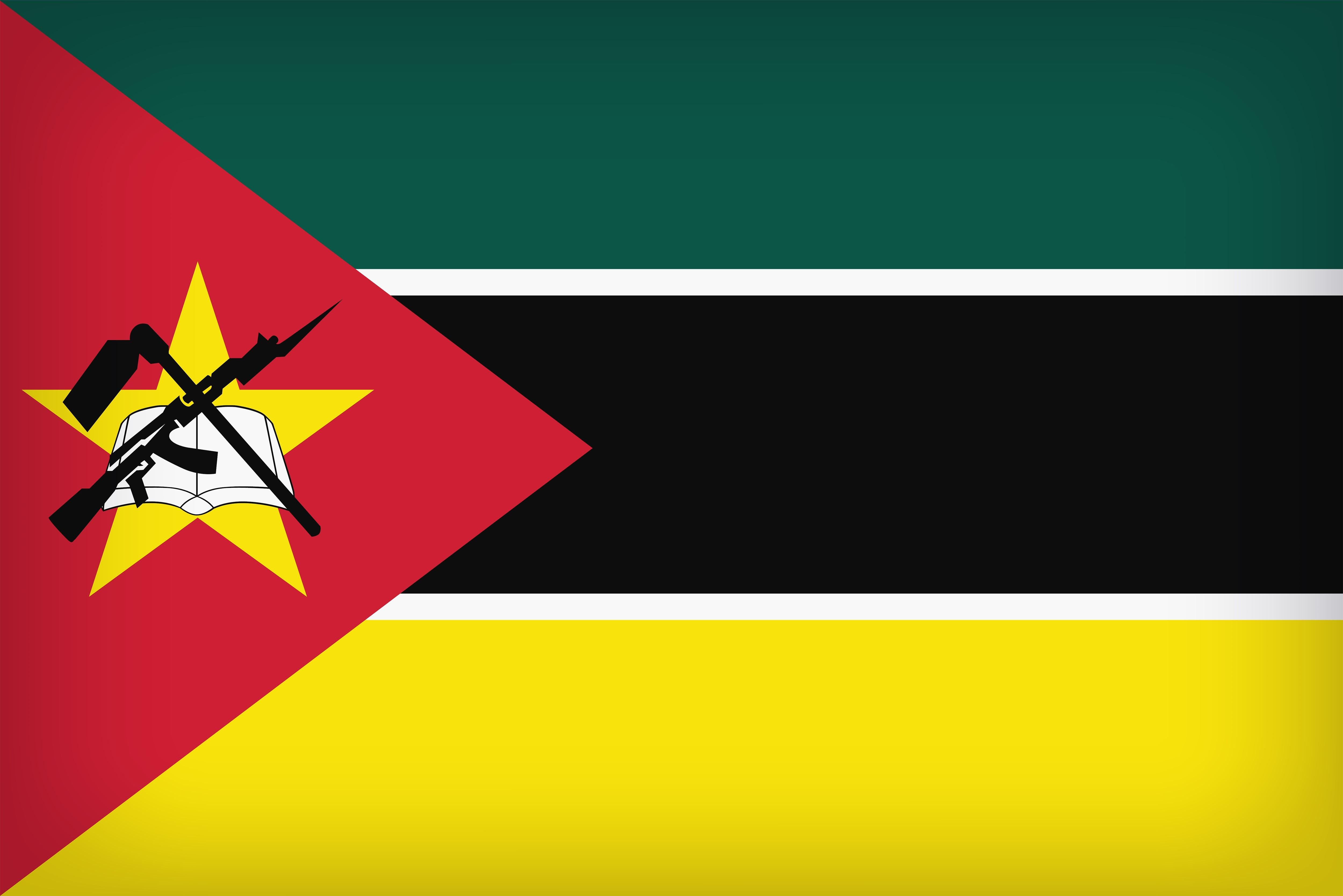 Flag of Mozambique 4k Ultra HD Wallpapers