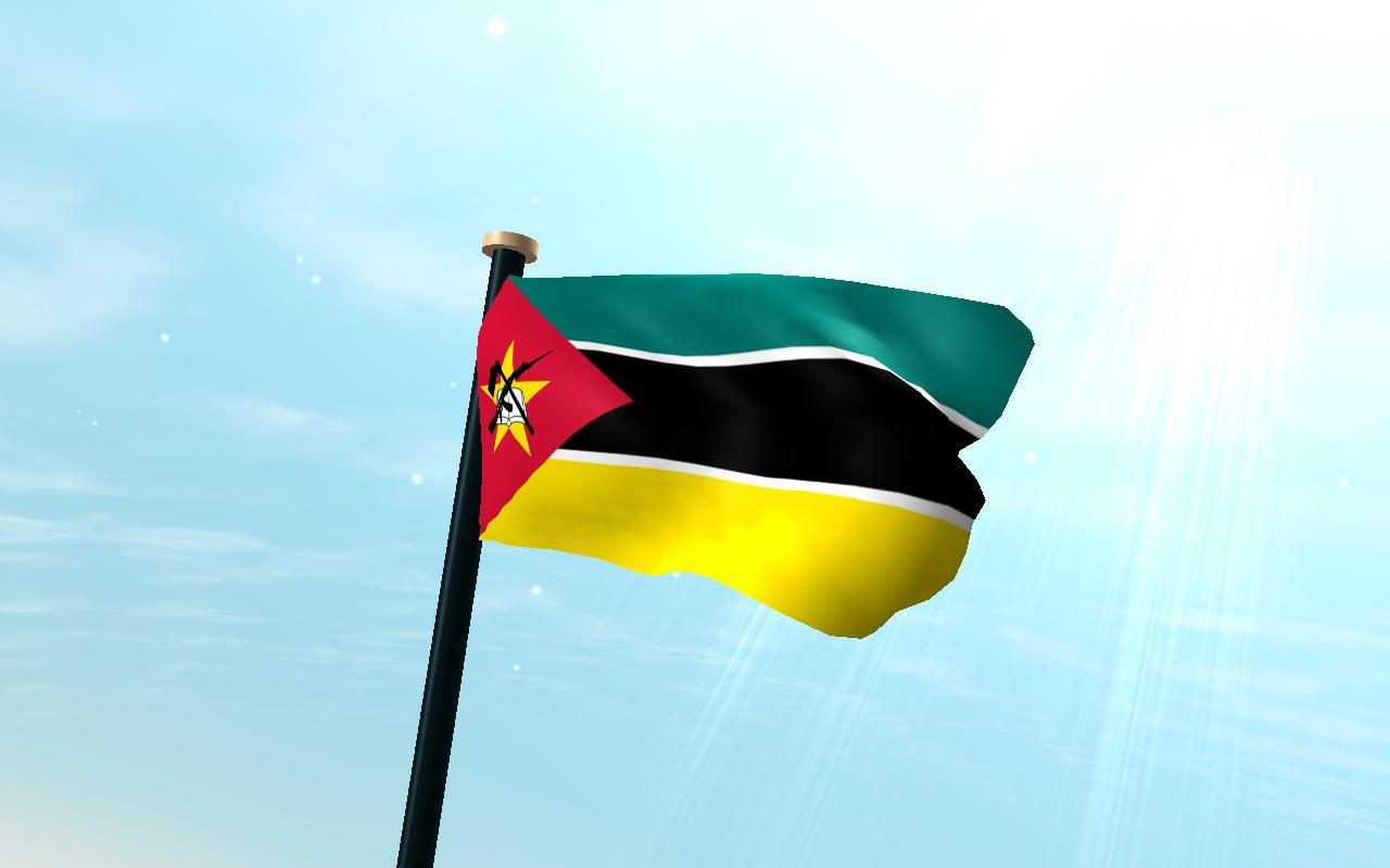 Mozambique Flag 3D Free for Android