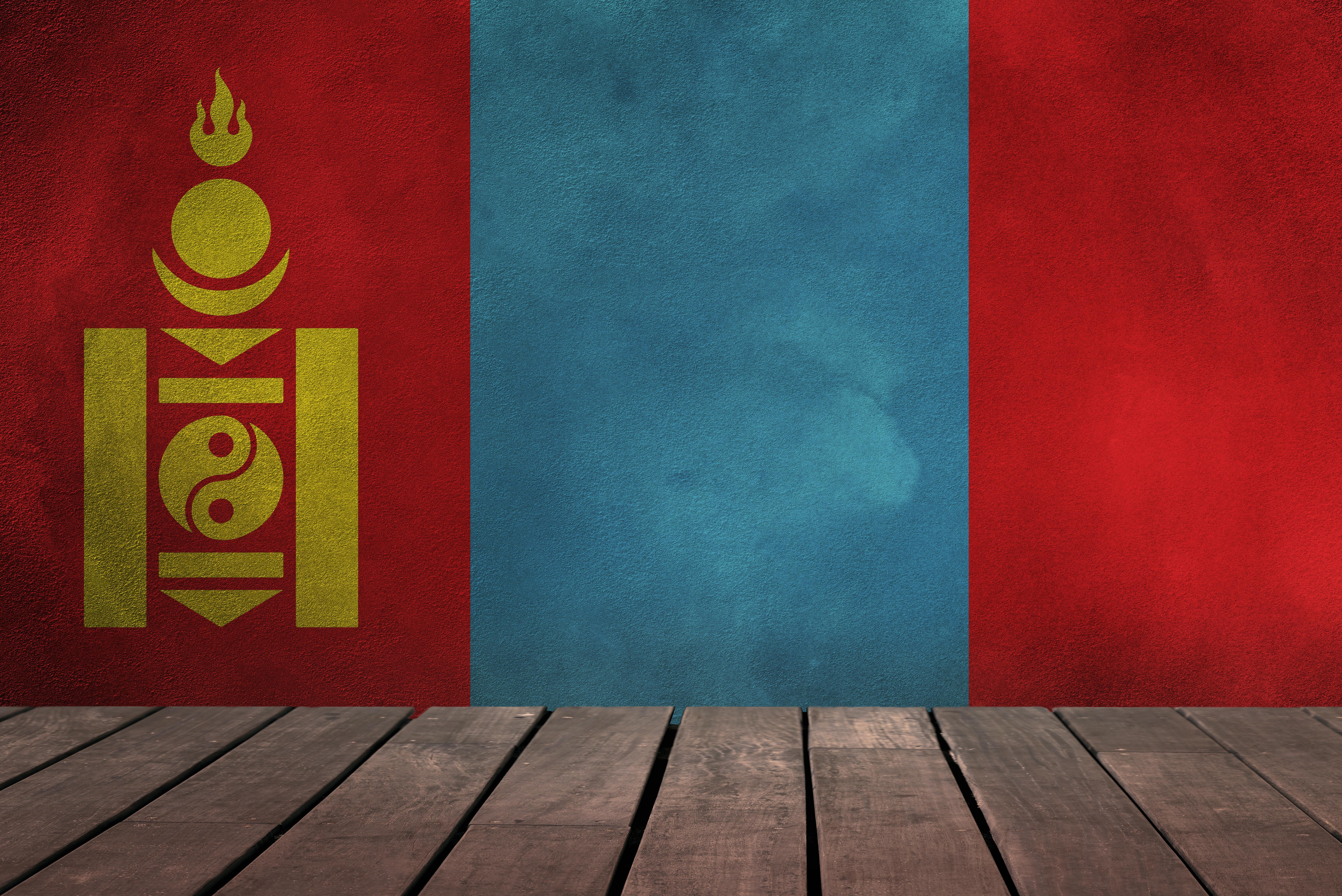 Flag Of Mongolia 5k Retina Ultra HD Wallpaper | Background Image ...
