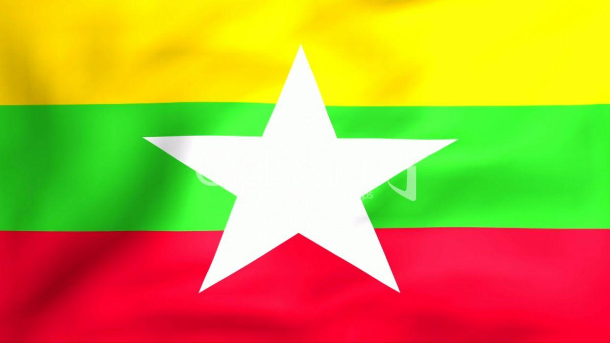 Flag Of Myanmar asia wallpapers