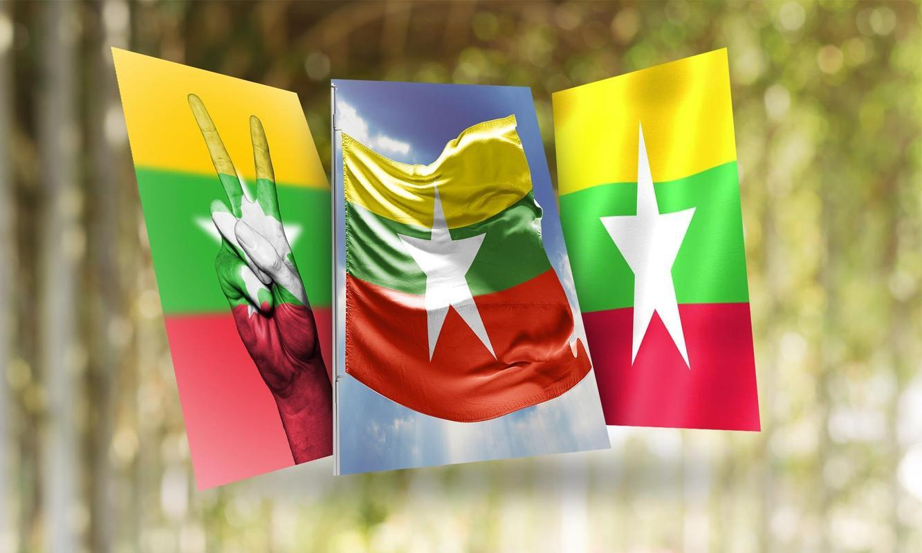 Myanmar Flag Wallpapers for Android