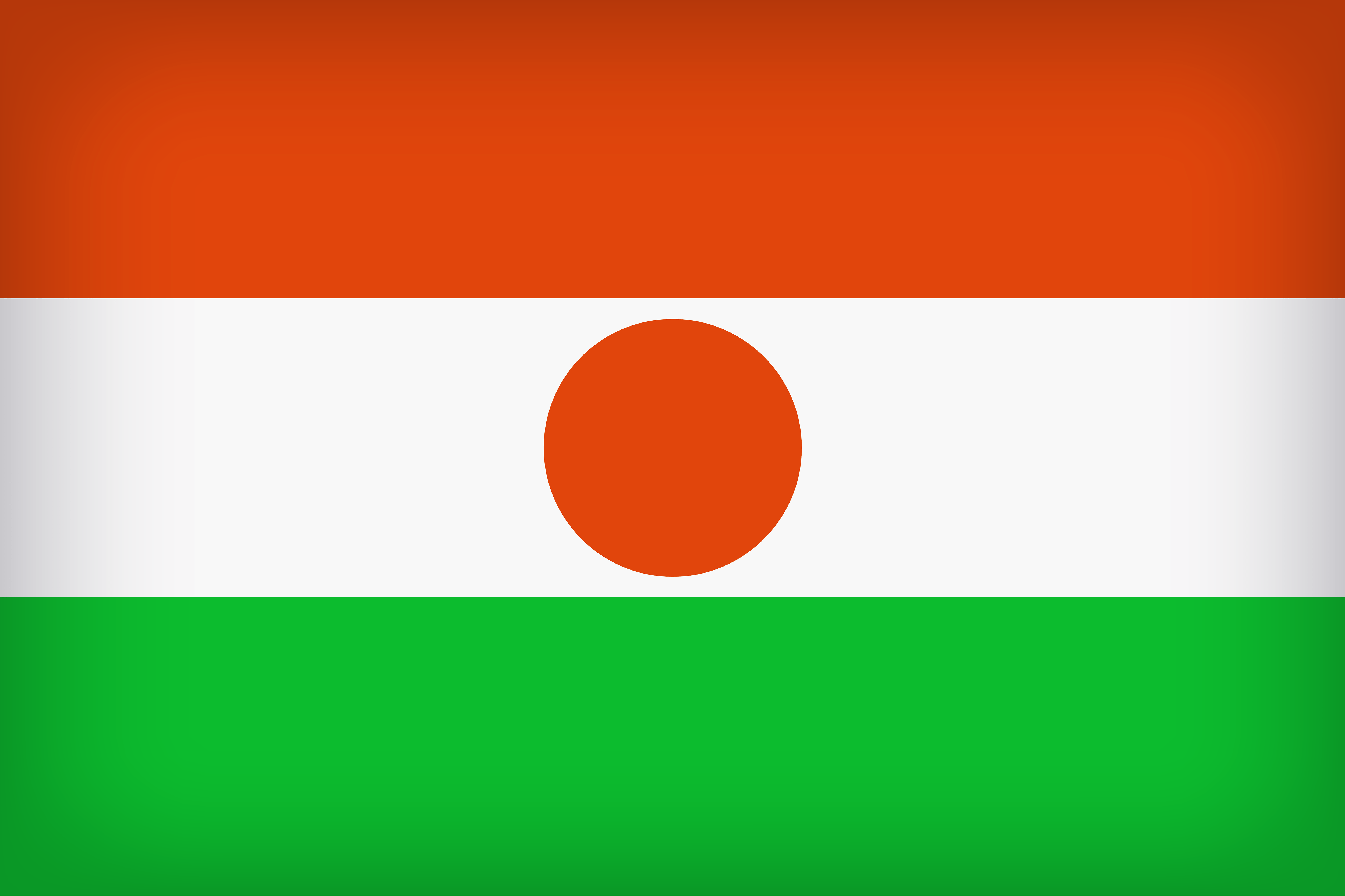 Niger Large Flag | Gallery Yopriceville - High-Quality Images and ...