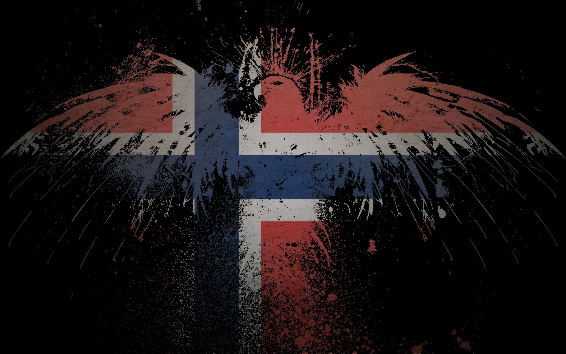 Norway flags wallpapers
