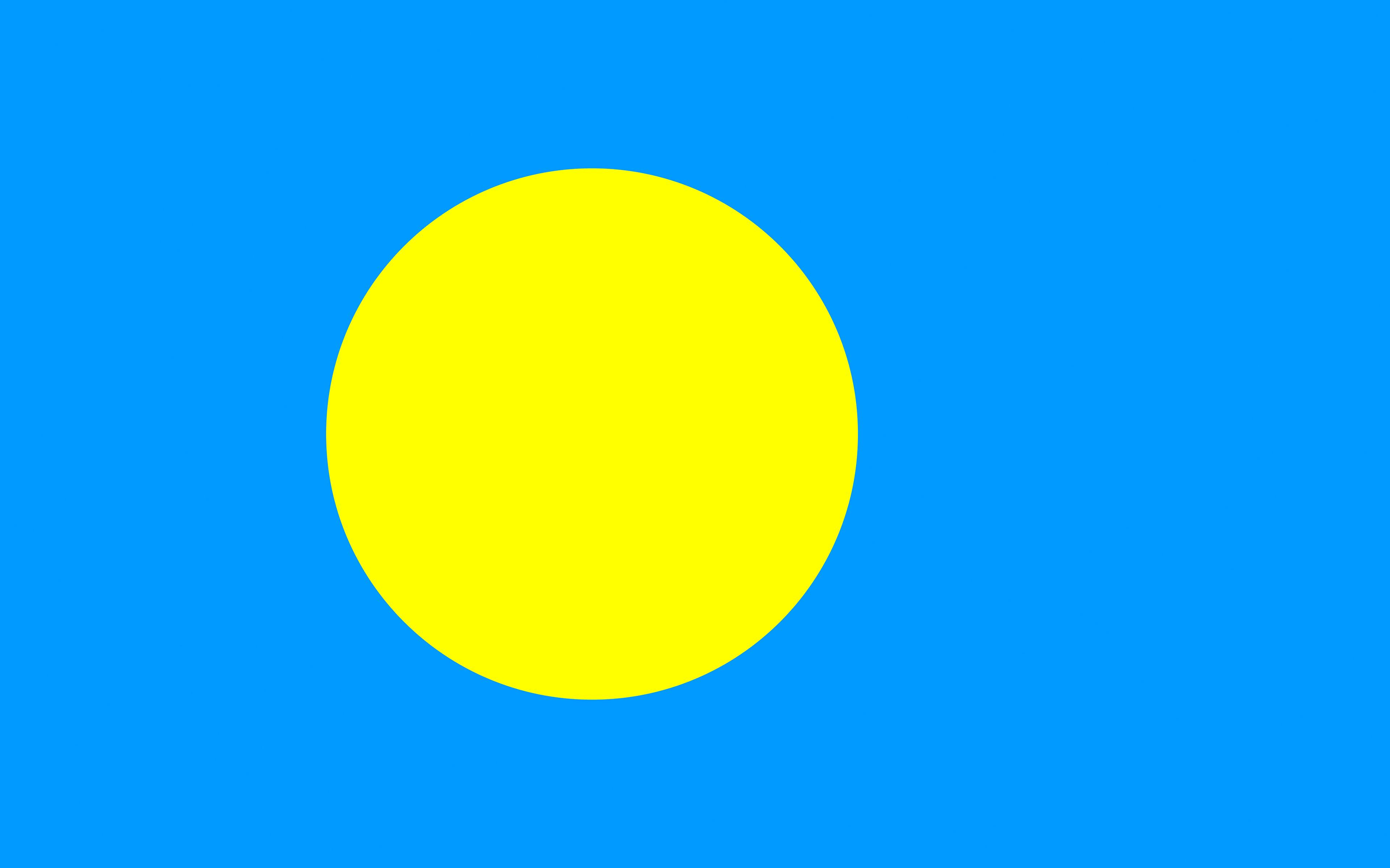 Picture Palau Flag 3840x2400