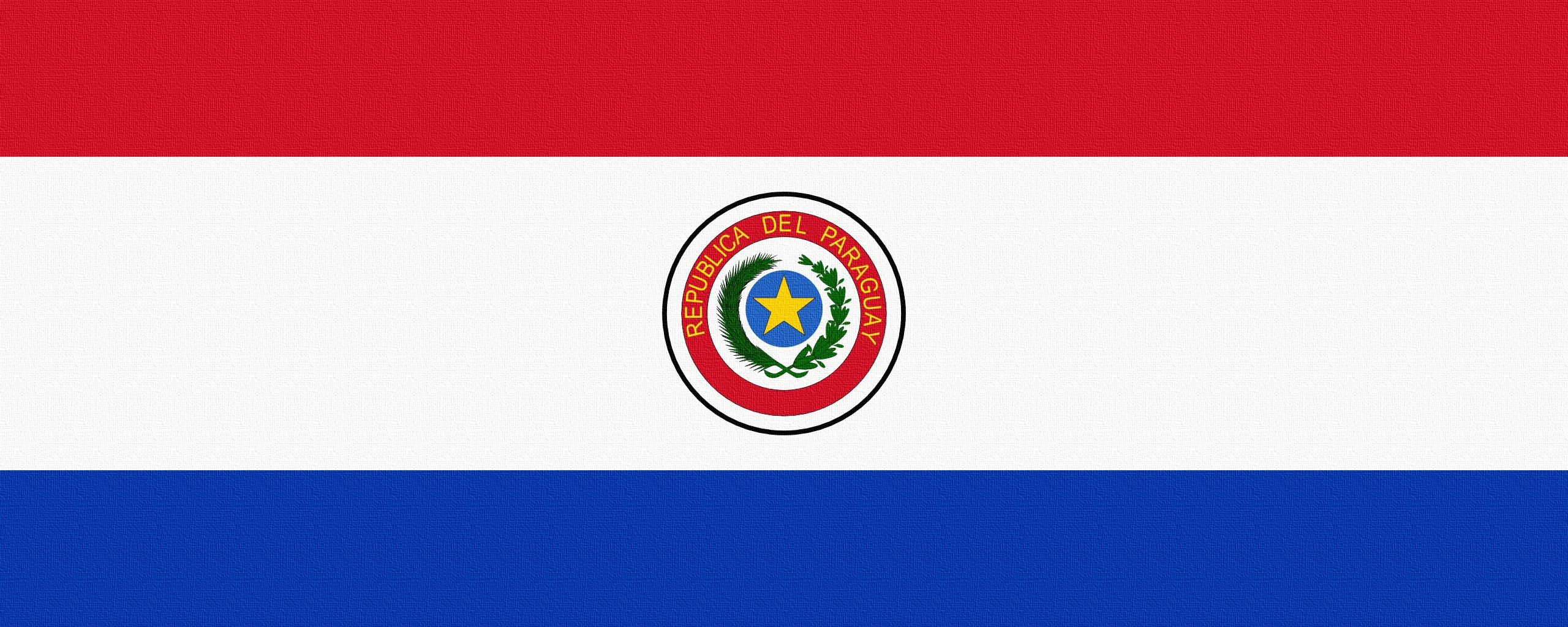 Download wallpaper 2560x1024 paraguay, flag, line ultrawide monitor ...
