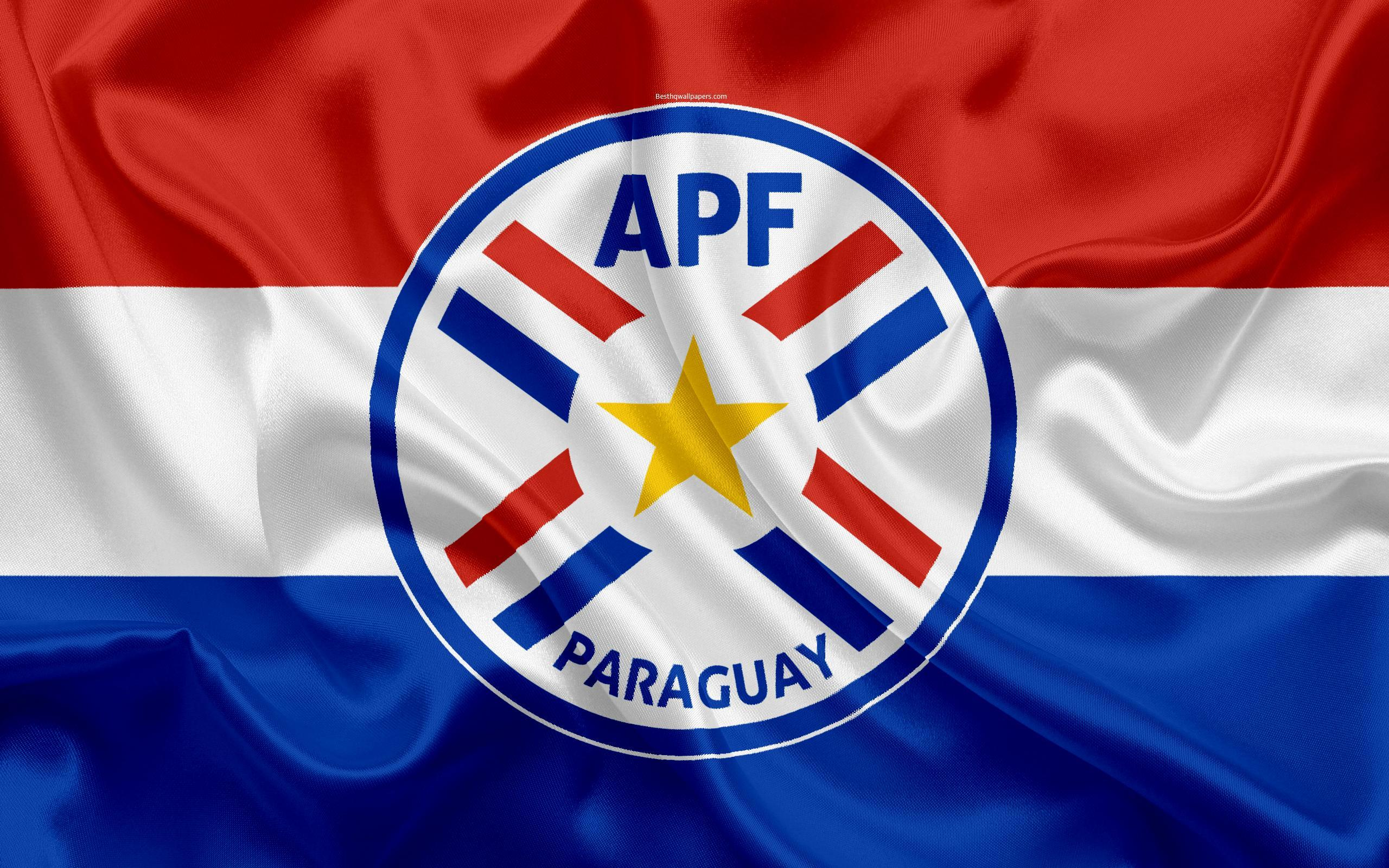 Download wallpapers Paraguay national football team, logo, emblem ...