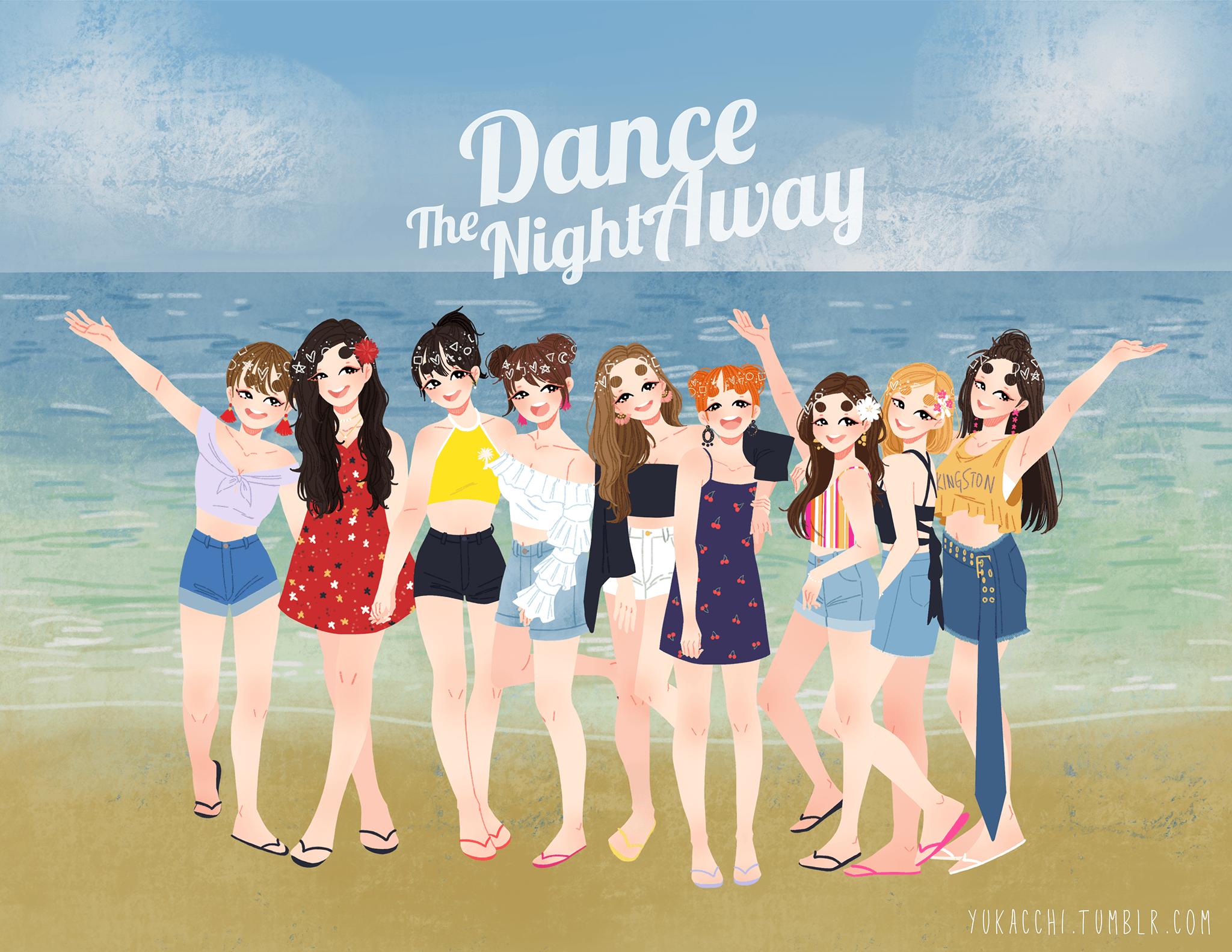 Night away the dance