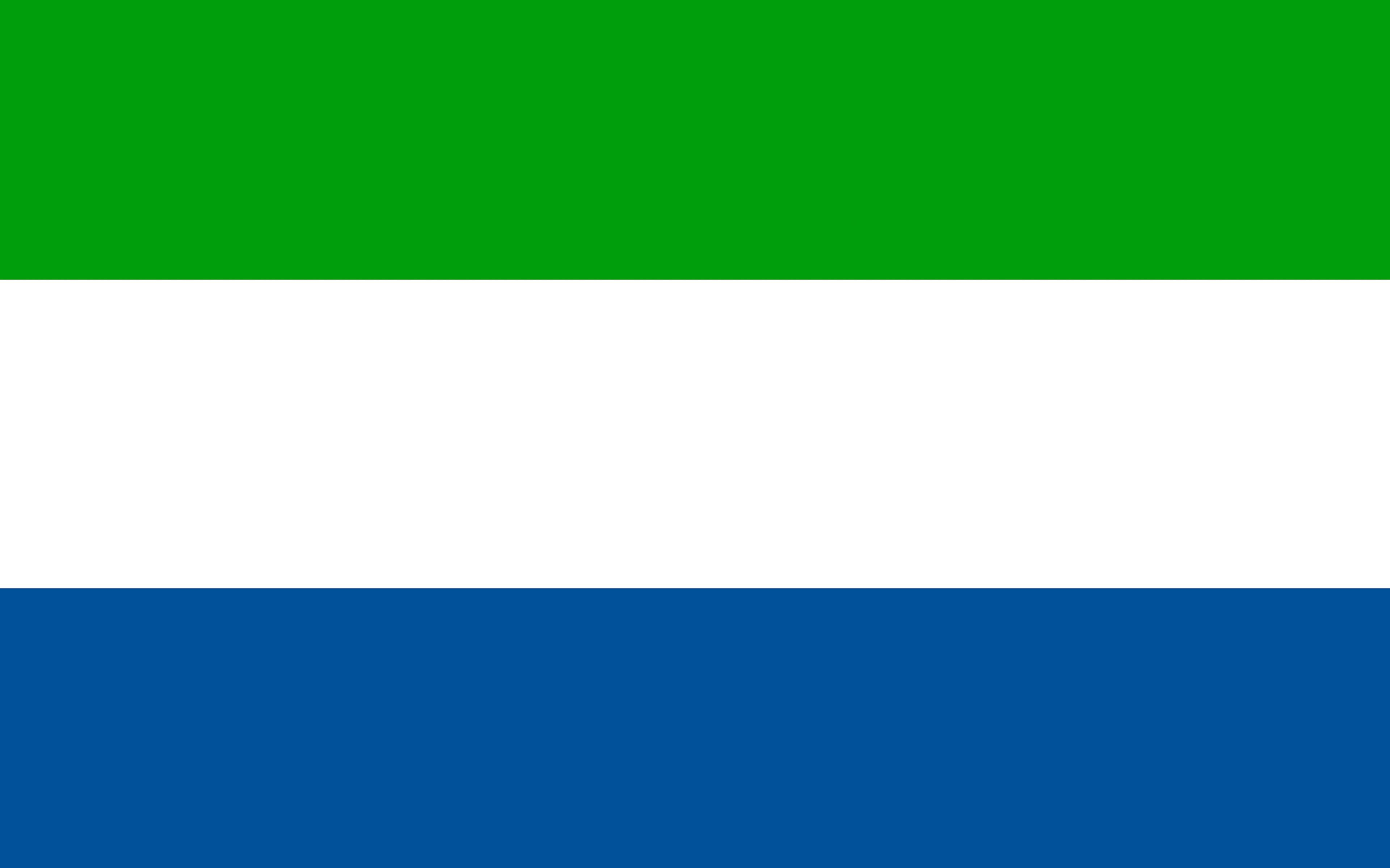 Photos Sierra Leone Flag Stripes 3840x2400