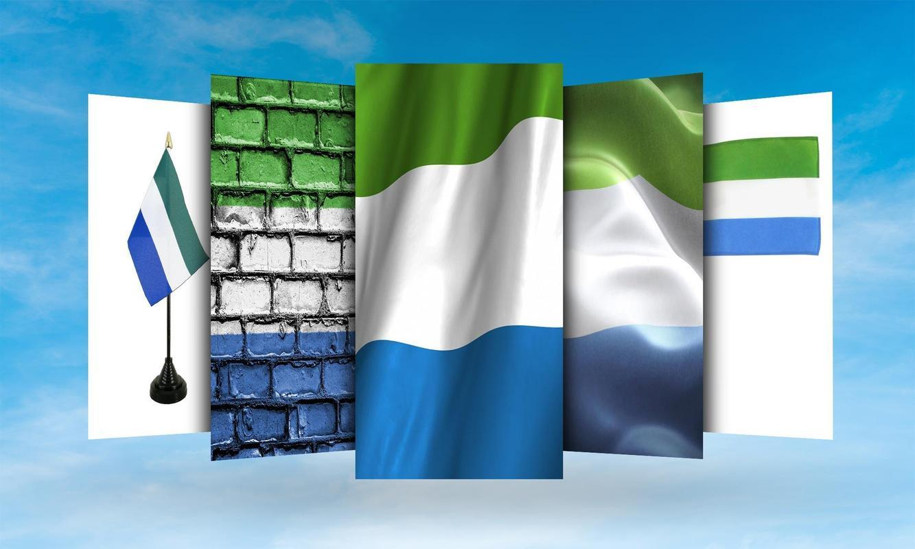 Sierra Leone Flag Wallpaper for Android - APK Download