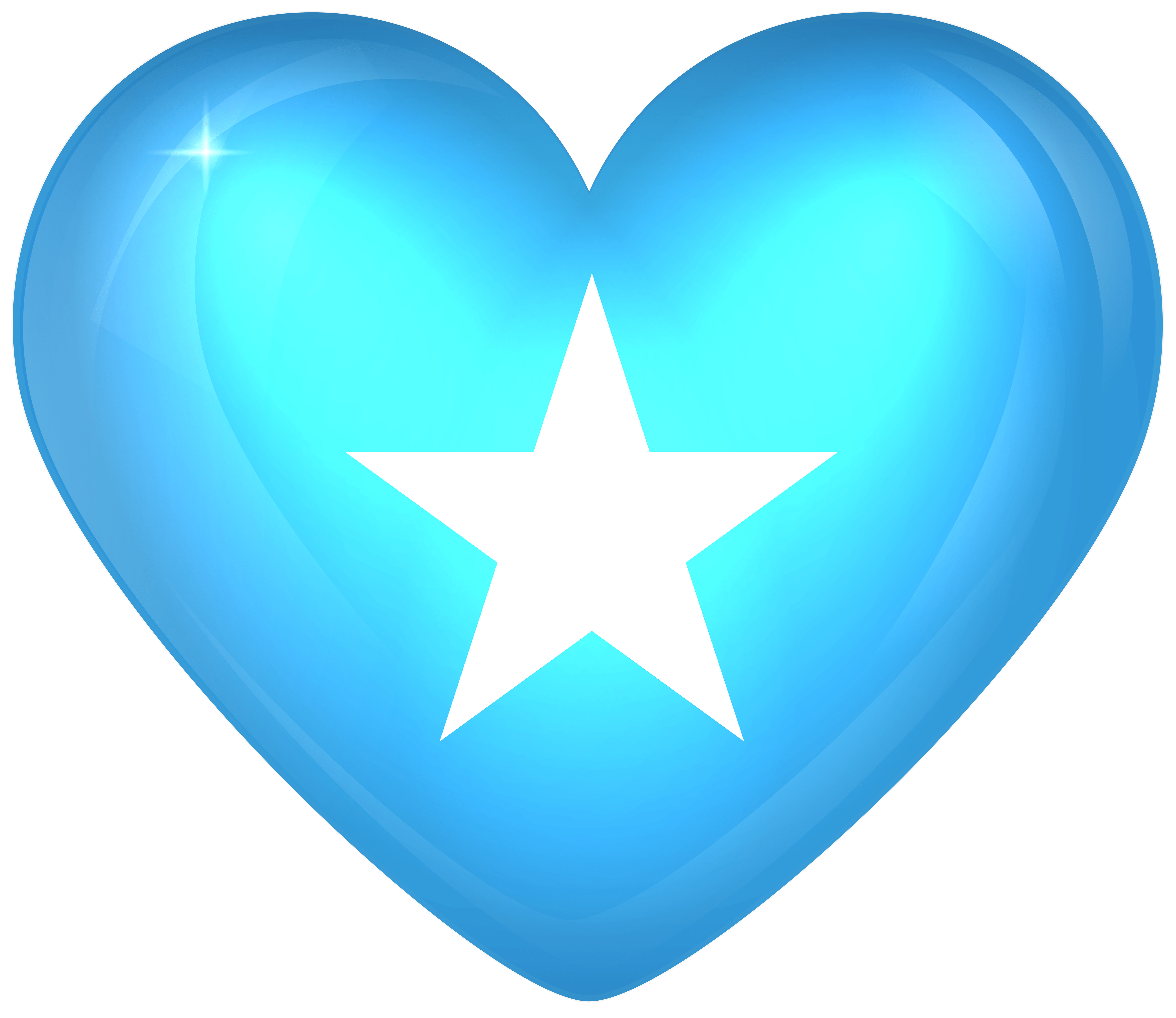 Somalia Large Heart Flag