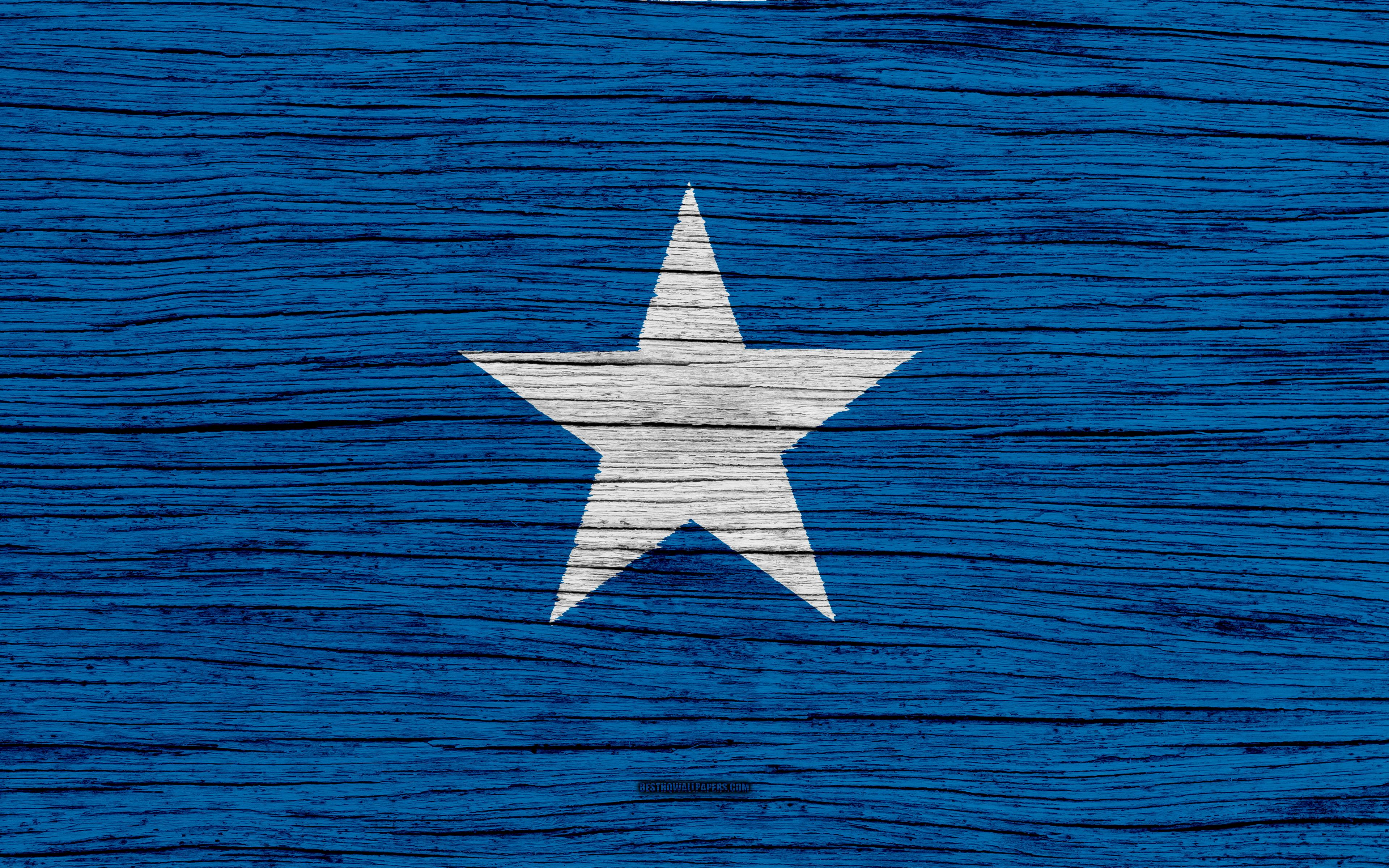Download wallpapers Flag of Somalia, 4k, Africa, wooden texture