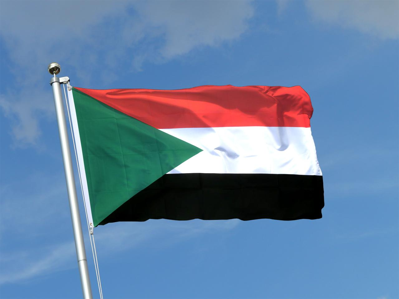 Sudan - 3x5 ft Flag (90x150 cm) - Royal-Flags