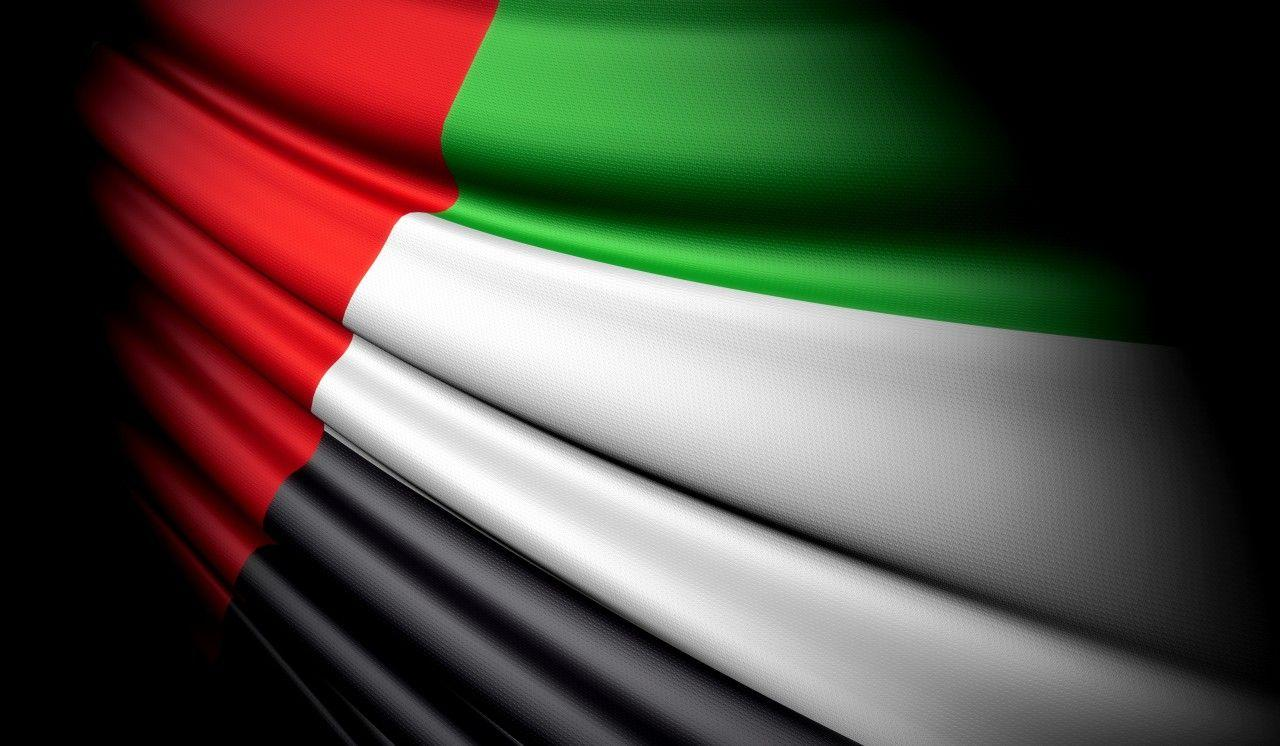 United Arab Emirates Flag Wallpaper | United Arab Emirates