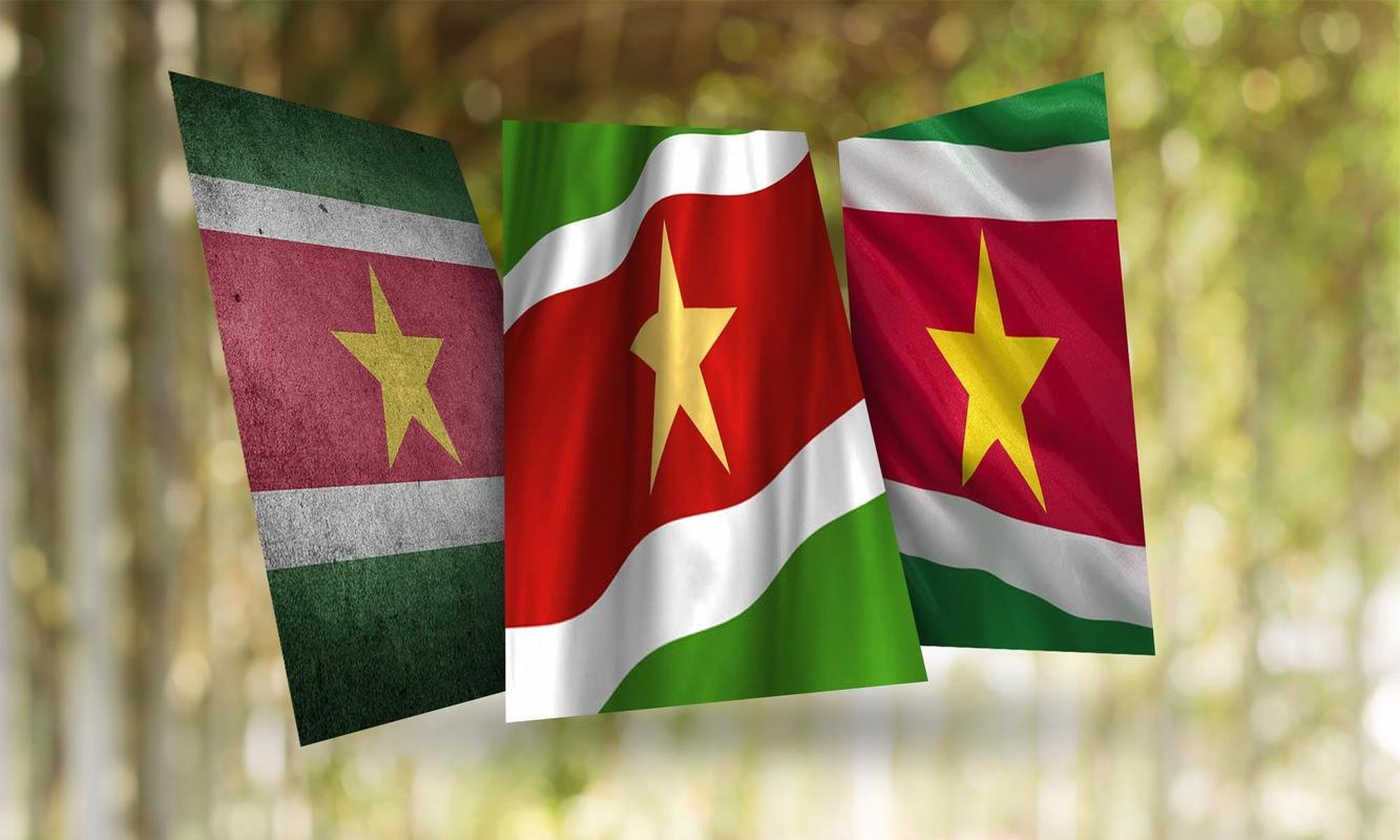 Suriname Flag Wallpapers for Android