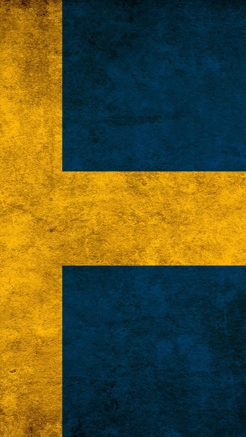 Download wallpapers 800x1420 sweden, colors, flag iphone se/5s/5c/5