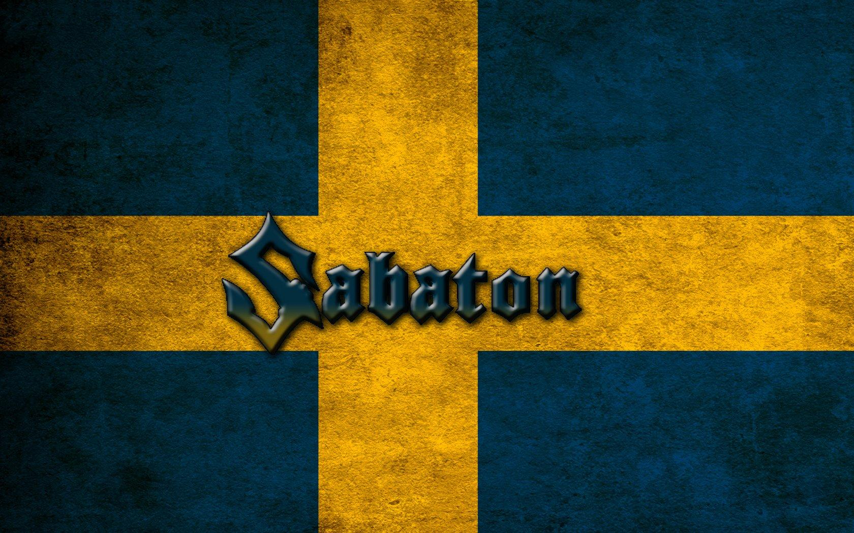 Sabaton Swedish Flag Wallpapers