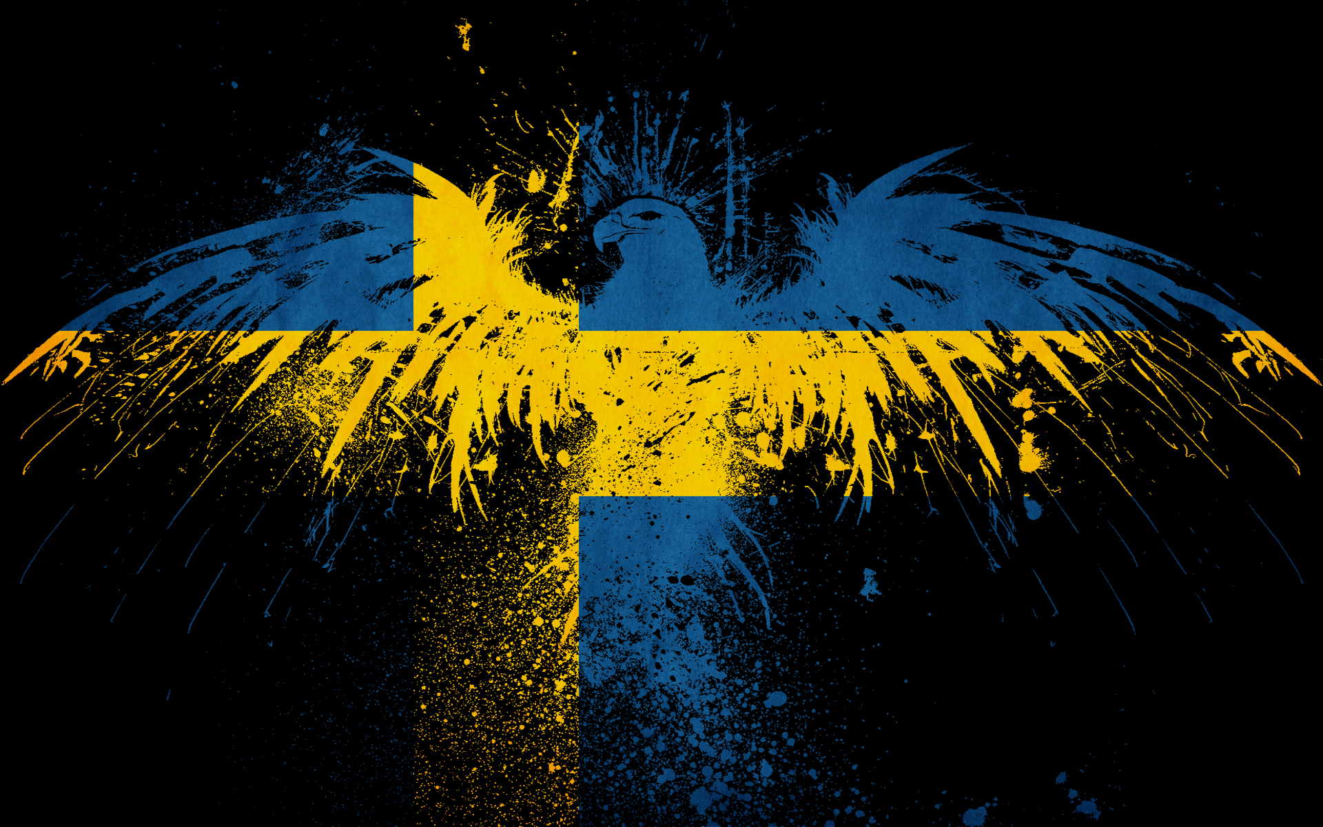 1920x1200px Swedish Flag Wallpapers