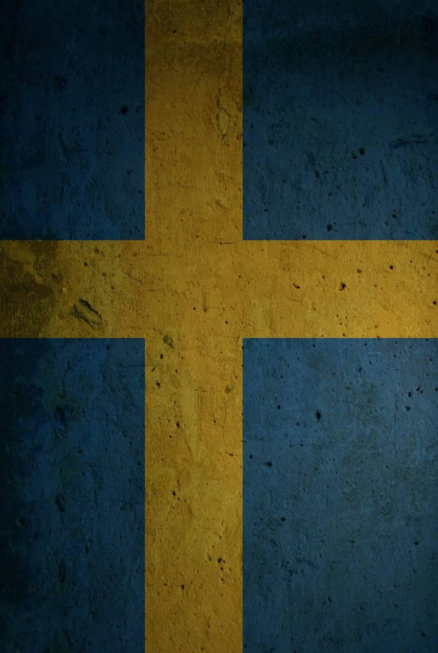 Swedish Flag Grunge Wallpapers by RafikiYako