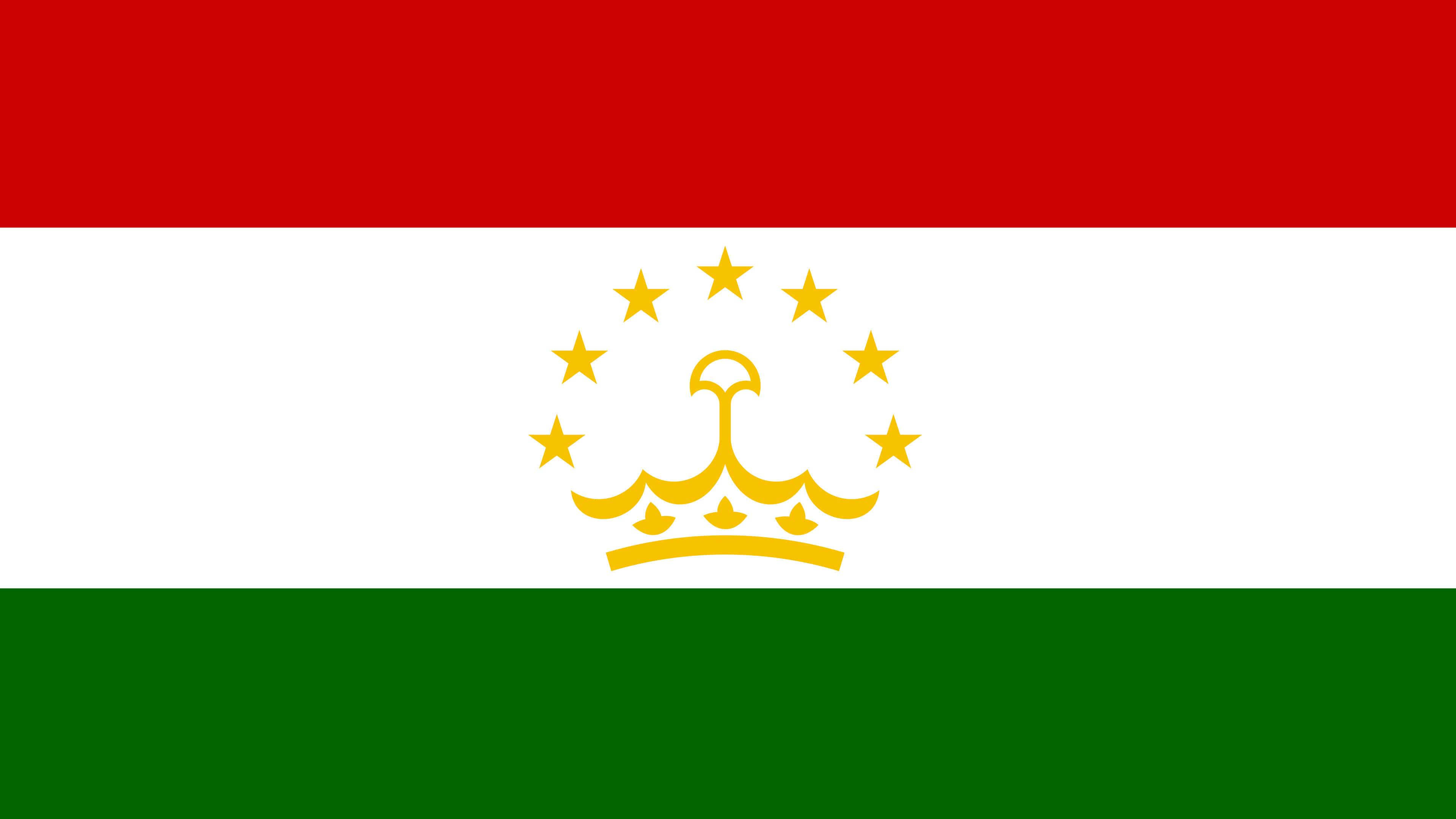 Tajikistan Flag UHD 4K Wallpapers