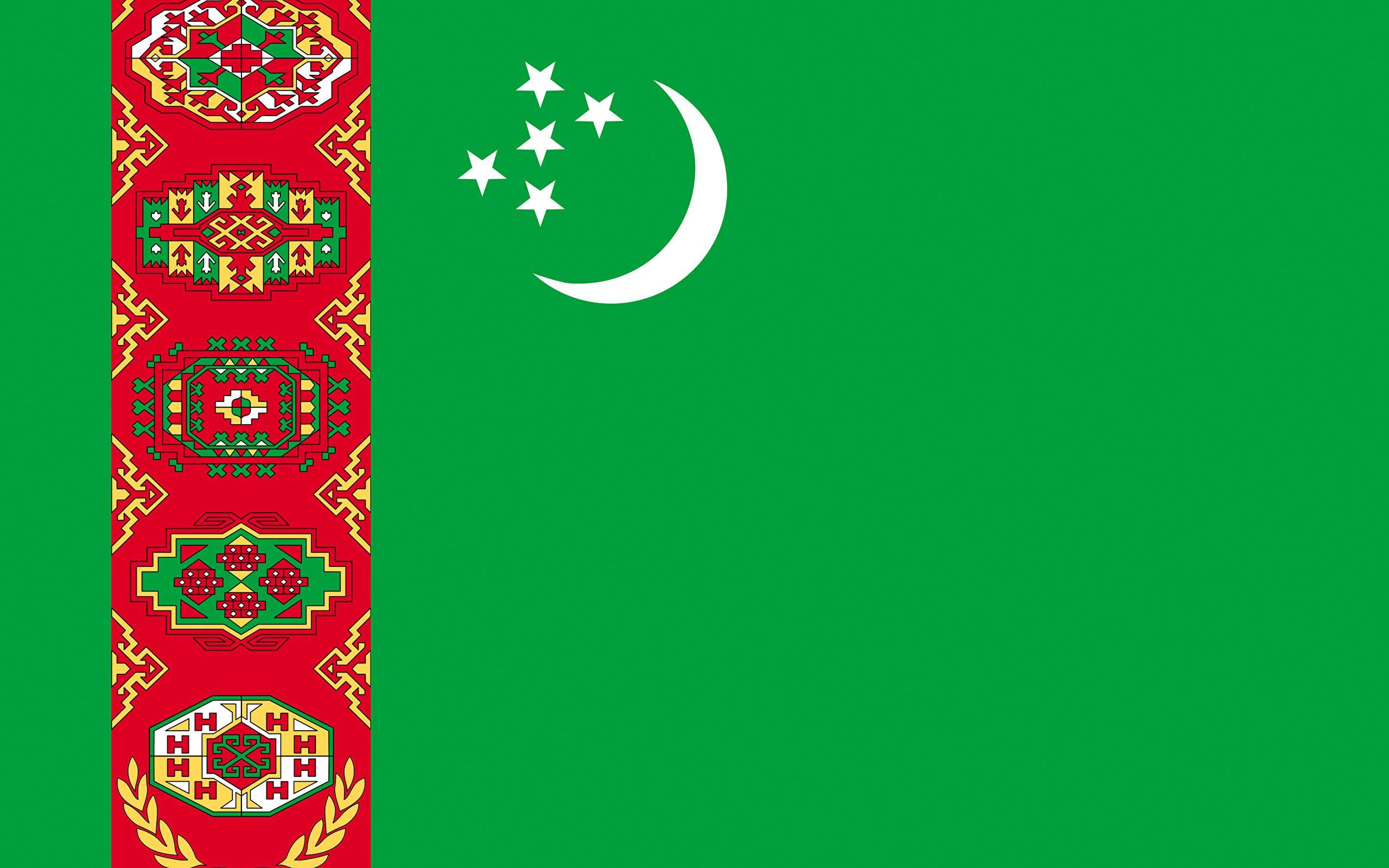 Turkmenistan Flag Wallpapers