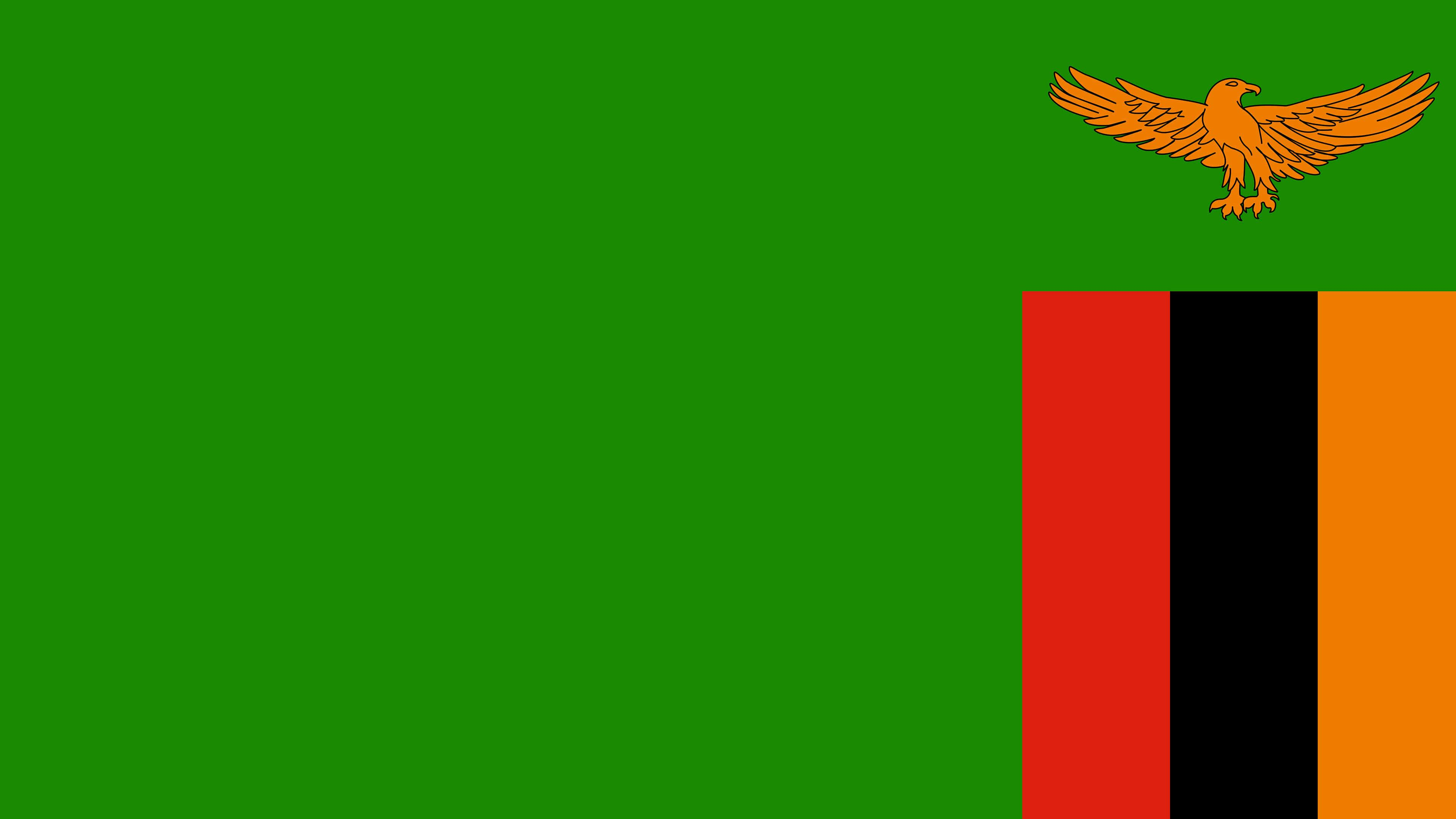 Zambia Flag UHD 4K Wallpapers
