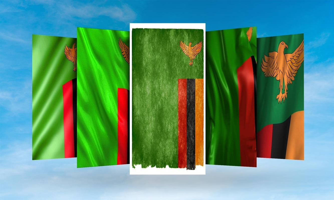 Zambia Flag Wallpapers for Android