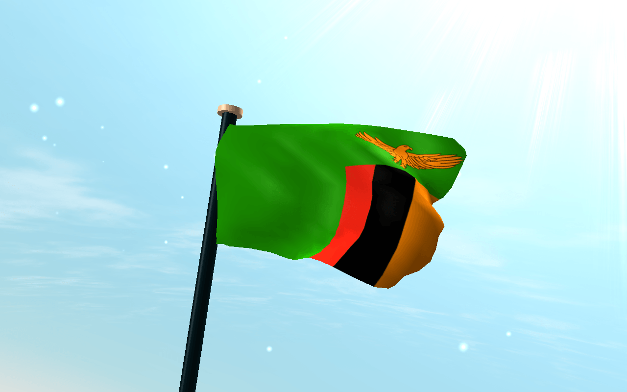 Download Zambia Flag 3D Free Wallpapers APK latest version app for