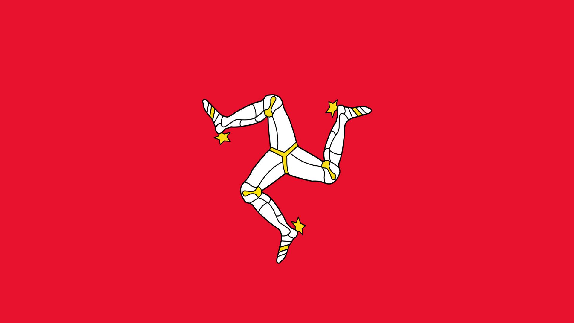 Isle of Man Flag - Wallpaper, High Definition, High Quality, Widescreen