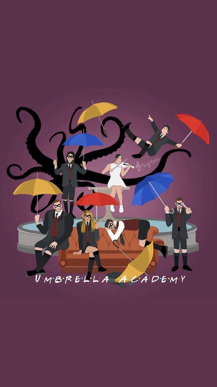 The Umbrella Academy Cast Wallpapers - Wallpaper Cave