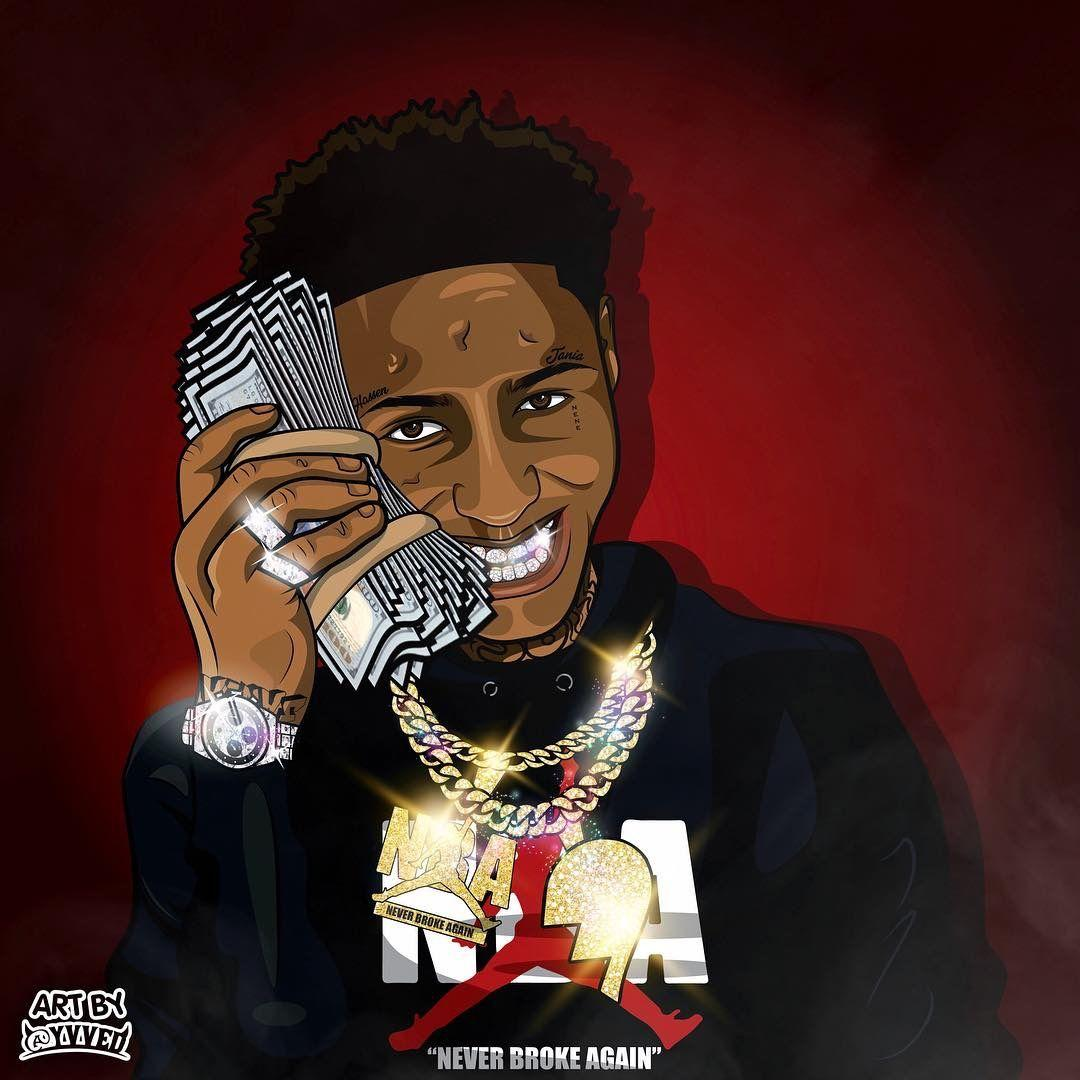 NBA YoungBoy Cartoon Wallpapers